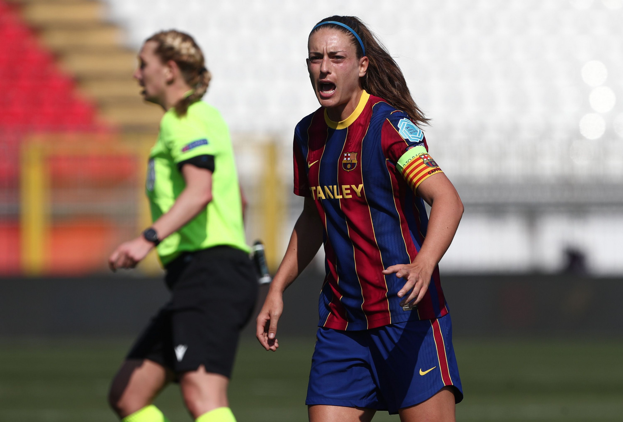 Alexia Putellas captained Barcelona to a treble last season ©Getty Images