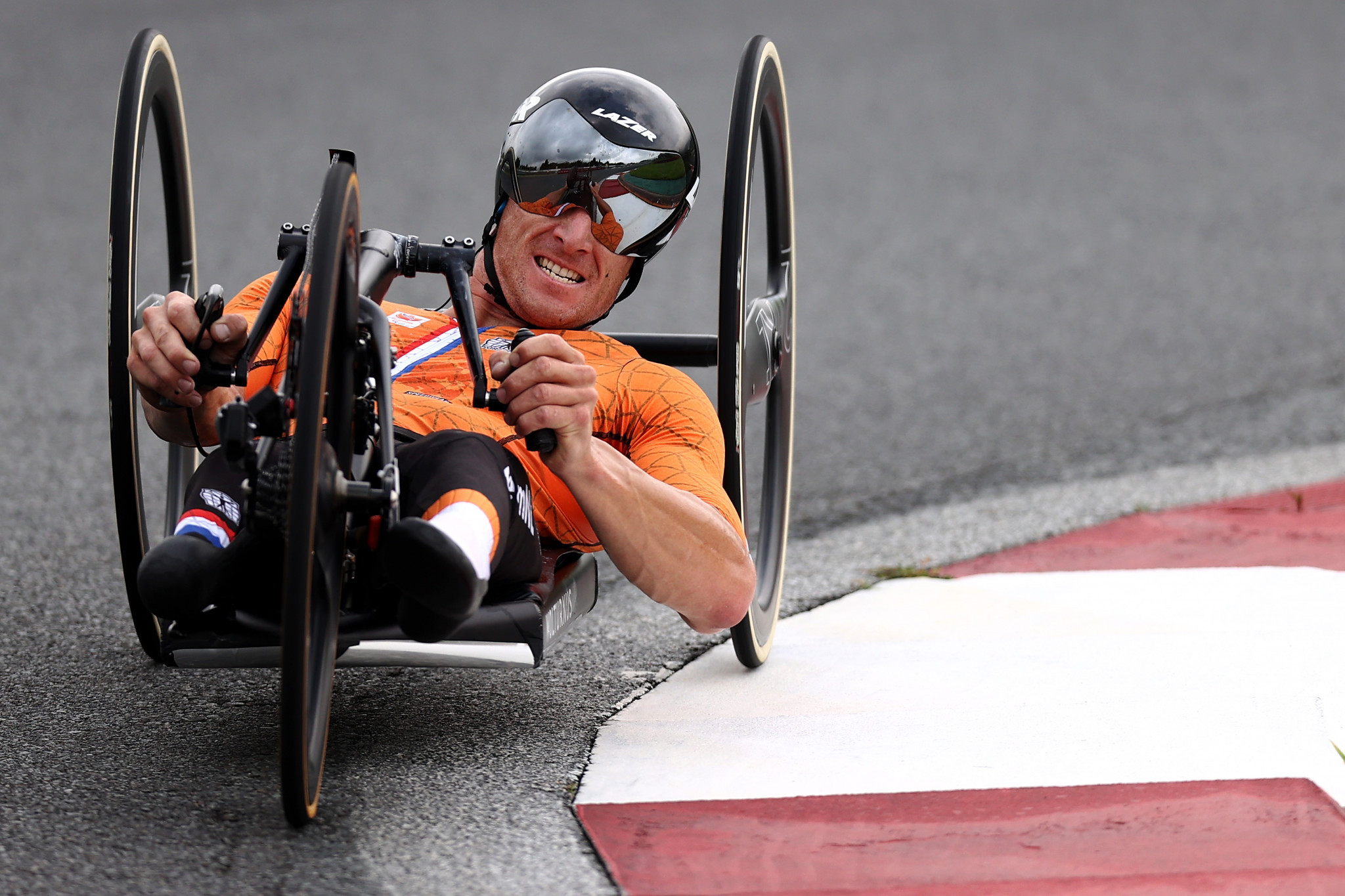 Netherlands celebrate three golds on first day of road races at Paralympics