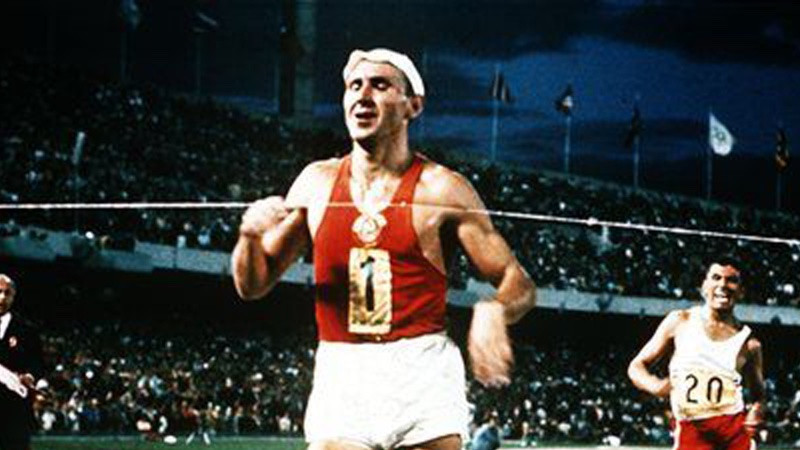 Vladimir Golubnichiy claimed the second Olympic race walking 20km gold medal of his career at Mexico City 1968 ©Getty Images