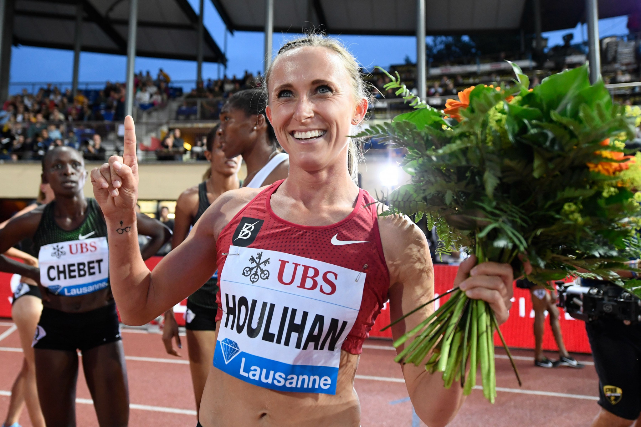 Shelby Houlihan is the American record holder over 1500 metres and 5,000m ©Getty Images