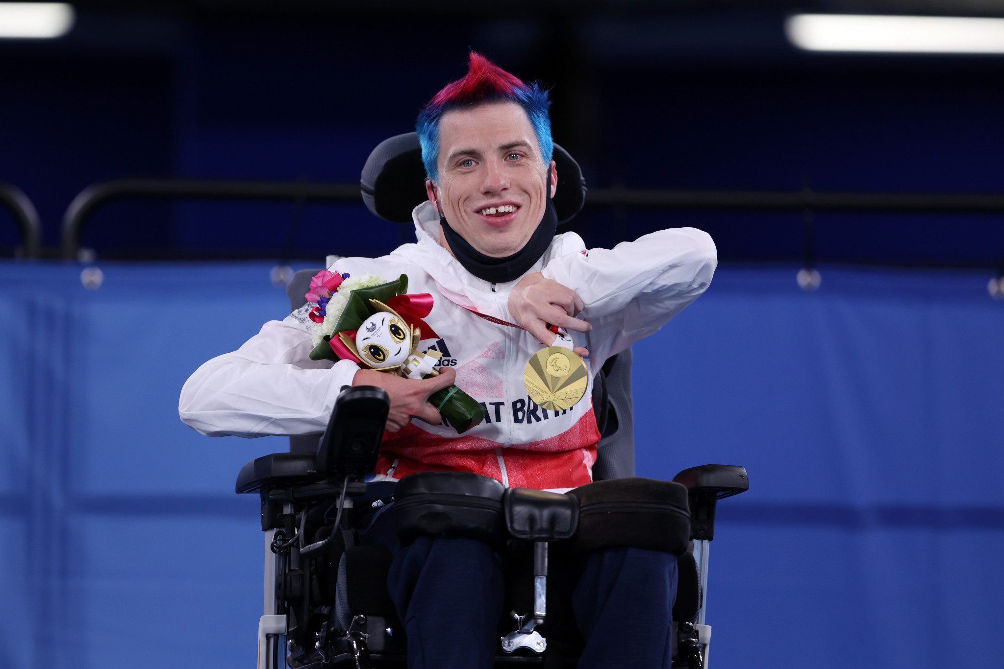 Four different nations claim gold in individual boccia, as Britain's David Smith retains BC1 title