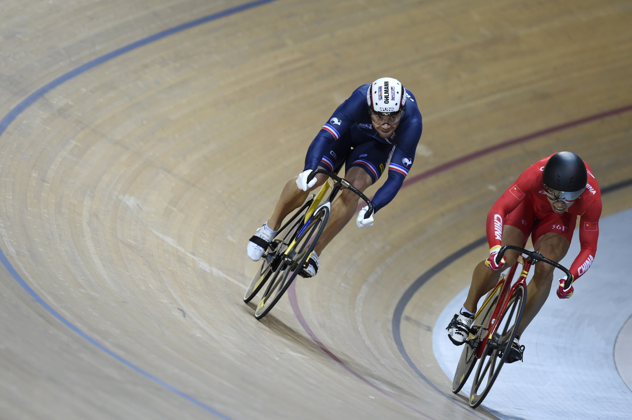 Simon takes gold at UCI 2021 Junior Track Cycling World Championships