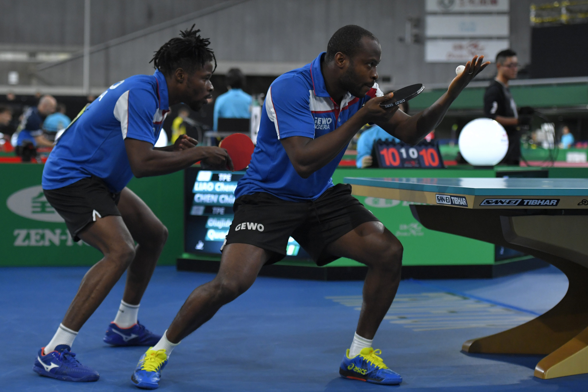 Nigeria and Egypt live up to expectations in 2021 ITTF African Championships
