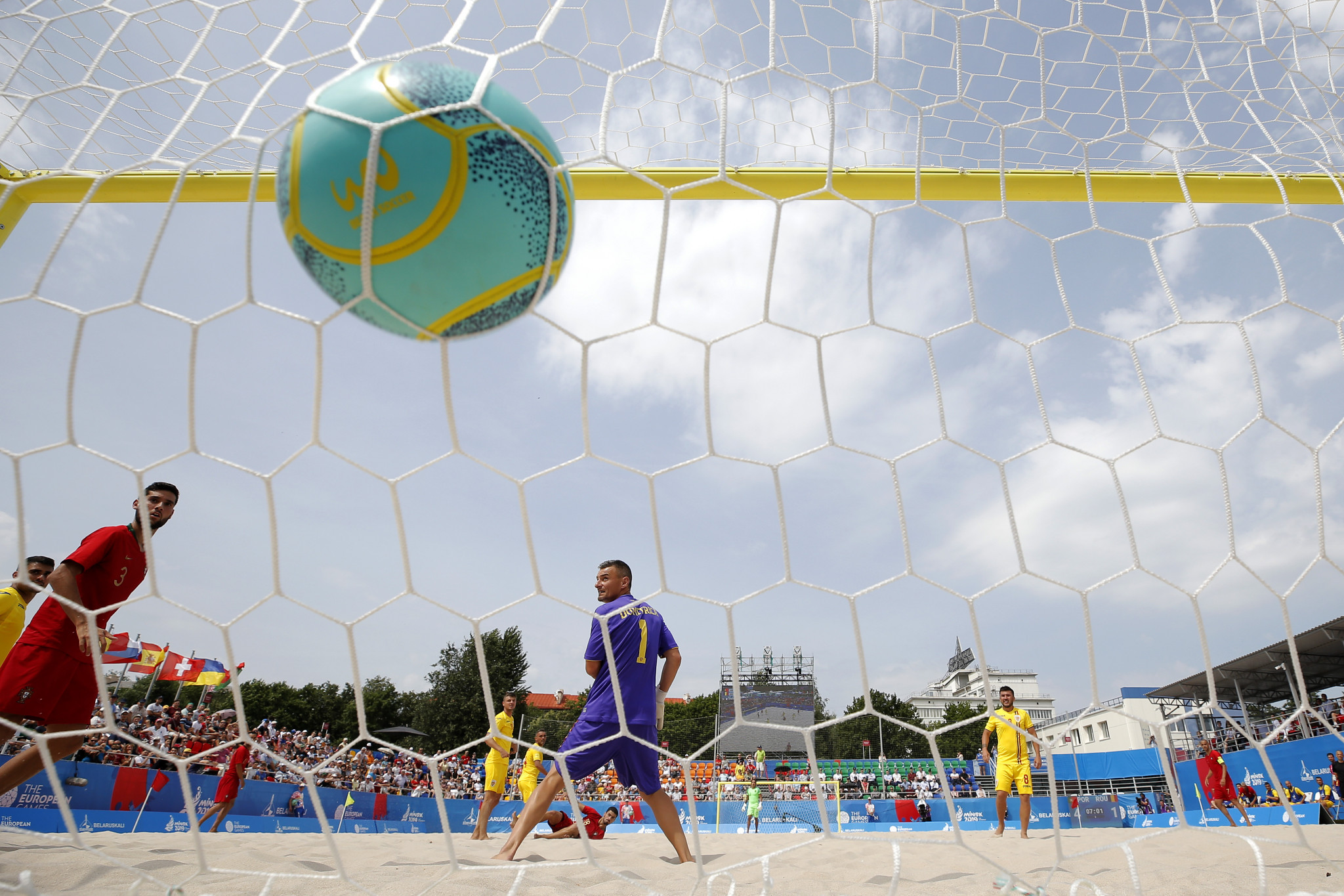 Beach soccer is also returning to the European Games at Kraków-Małopolska 2023 ©Getty Images