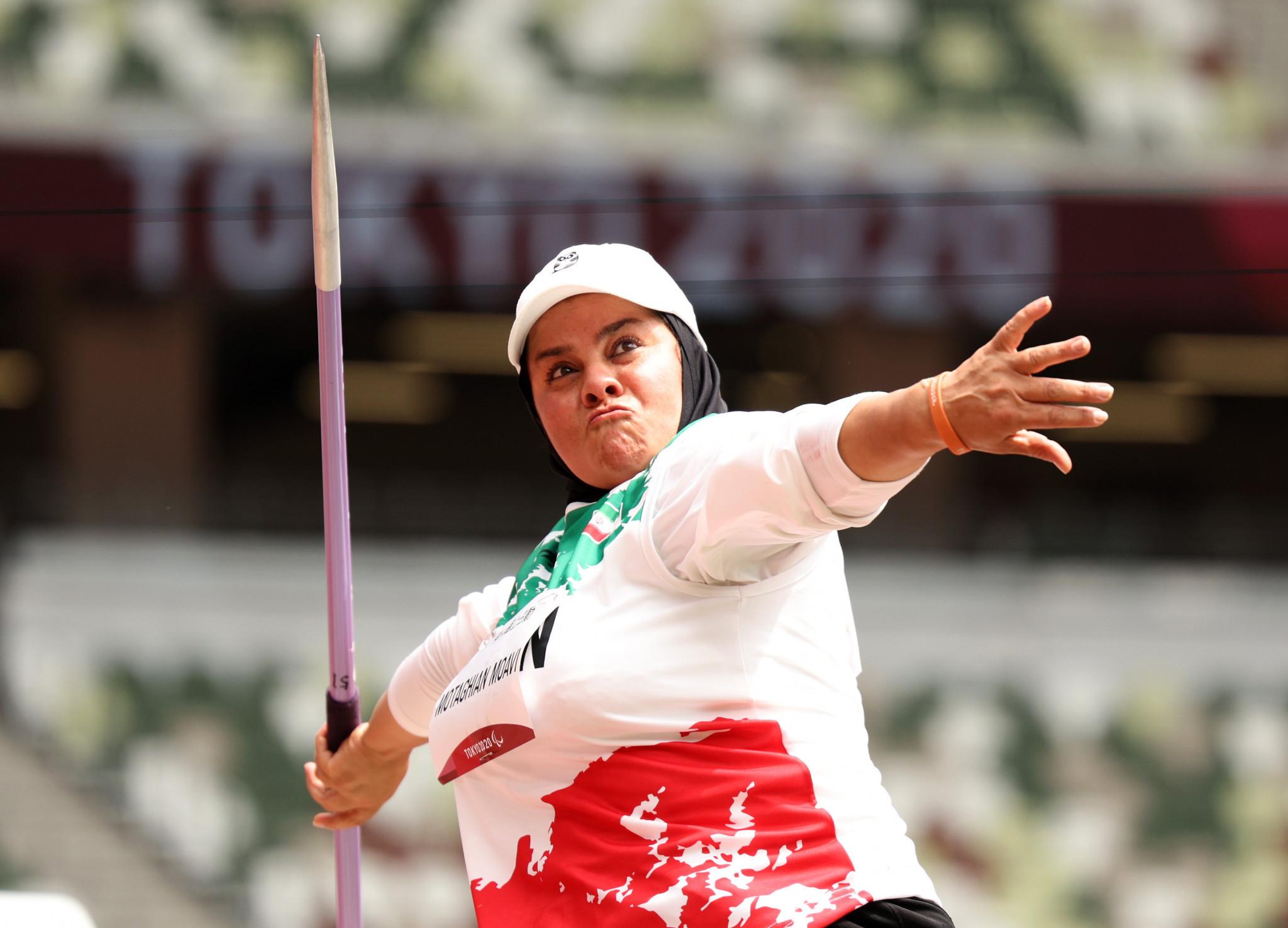 Iranian Paralympic champion Moavi looks forward to Hangzhou 2022