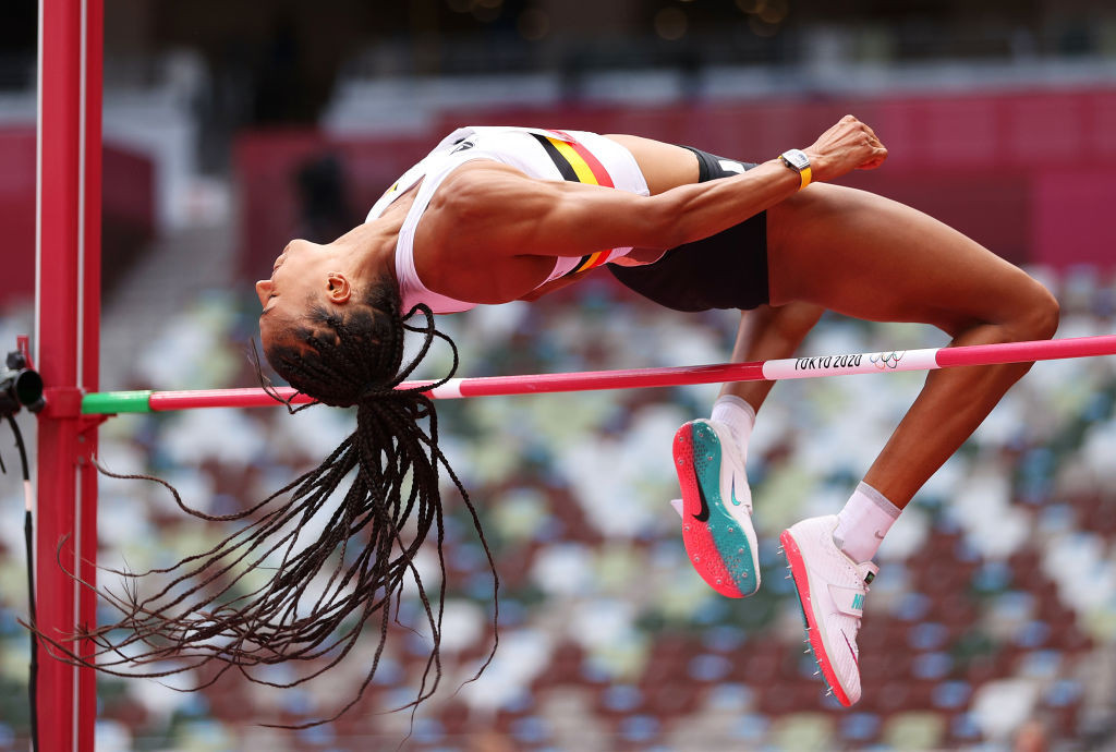 Home athlete Nafissatou Thiam, the double Olympic heptathlon champion, will compete in the high jump at tomorrow's Wanda Diamond League meeting in Brussels ©Getty Images