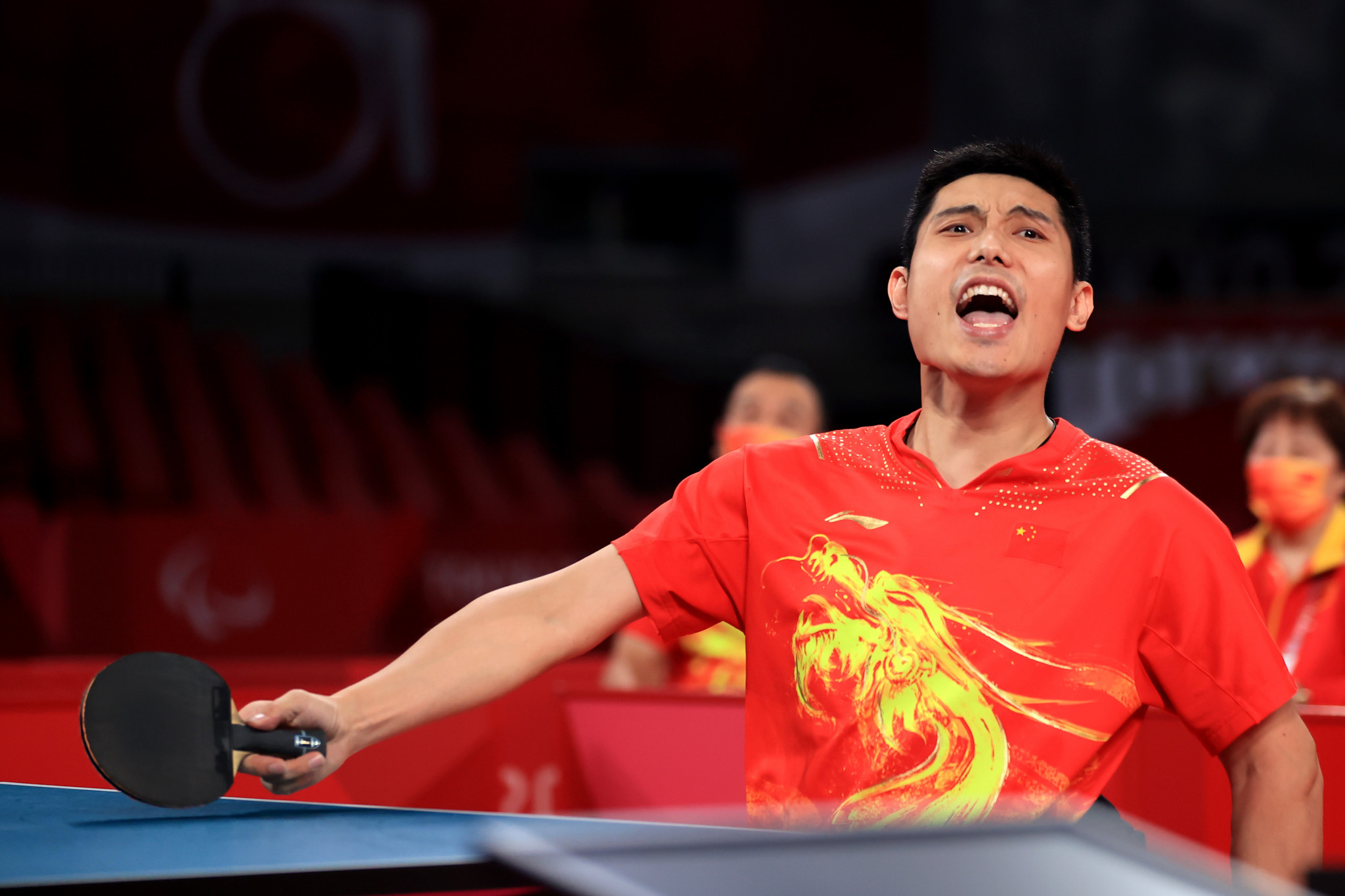 China win all five team table tennis golds at Tokyo 2020 Paralympics