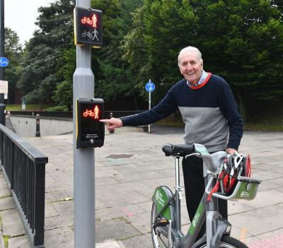 Hugh Porter is Wolverhampton's new cycling ambassador ©City of Wolverhampton Council