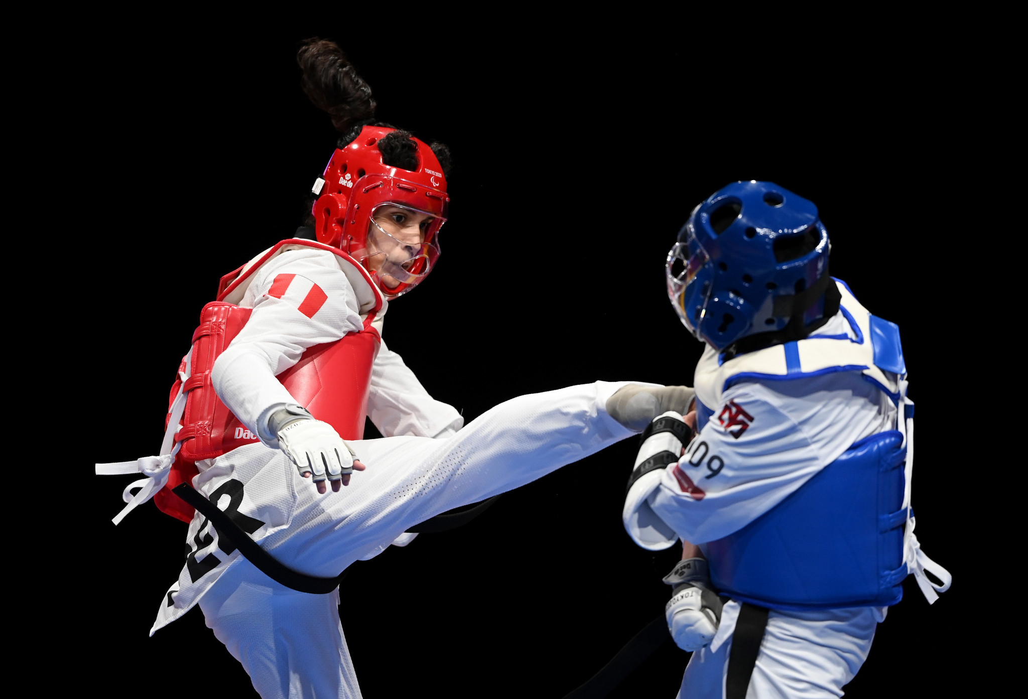 Leonor Espinoza Carranza made history by becoming the first Paralympic champion in taekwondo ©Getty Images