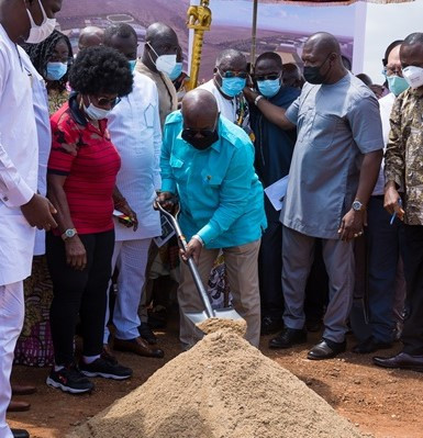 Ghana will be ready for 2023 African Games as work begins on new complex, President promises