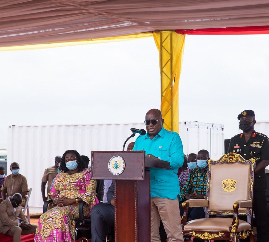 Ghana President Nana Akufo-Addo claimed that hosting the African Games had been an ambition of the country since they were first held in 1965 ©The Presidency Republic of Ghana