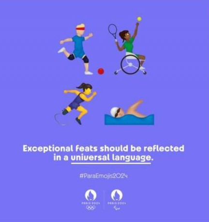 Paris 2024 officially submits request for creation of Paralympic emojis