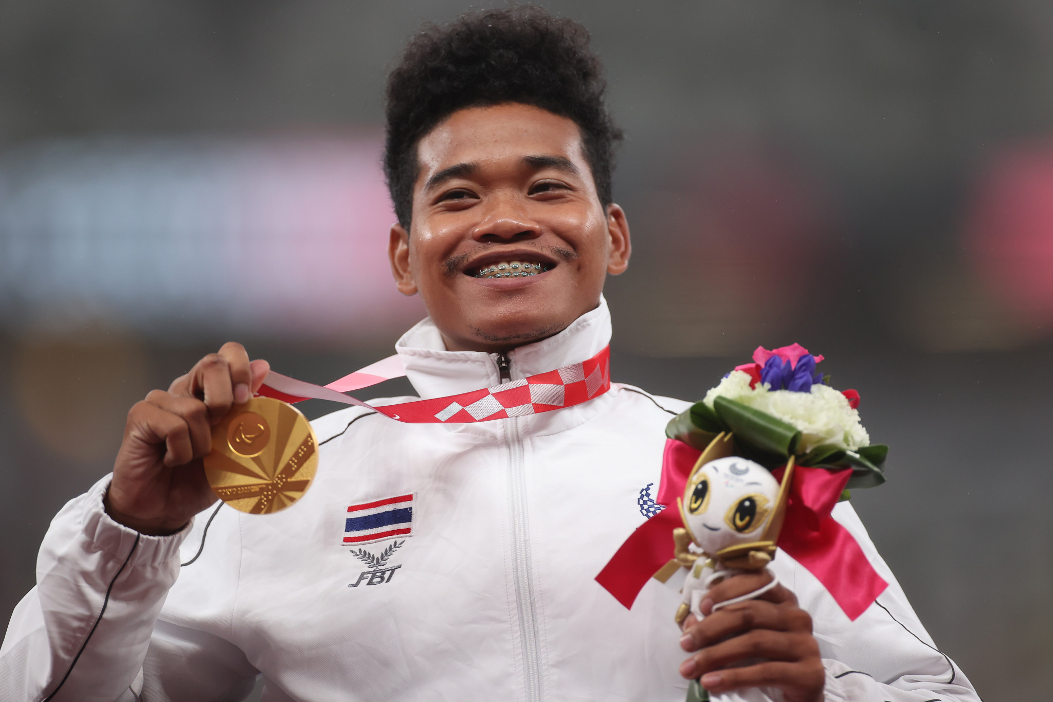 Pongsakorn Paeyo added another gold medal to his tally in Tokyo ©Getty Images