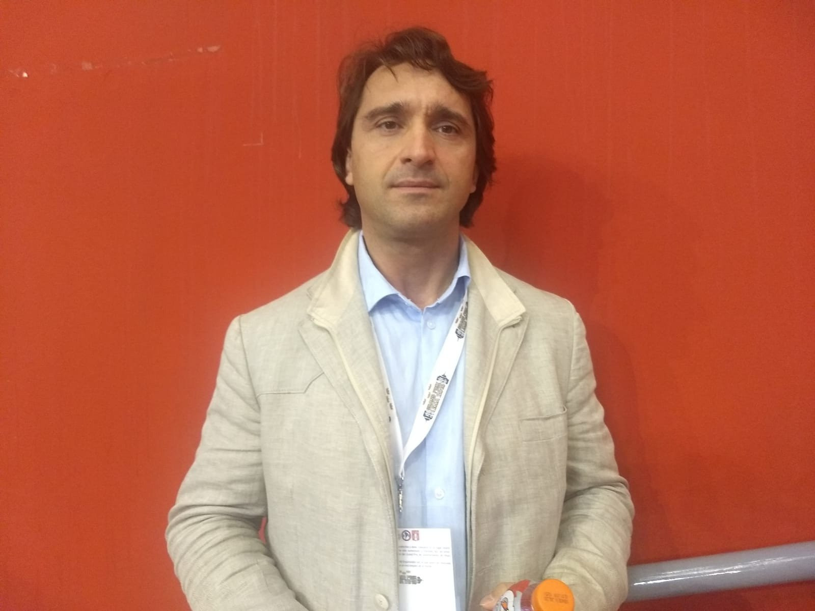 Maxim Agapitov is Interim President of the European Weightlifting Federation ©NTV