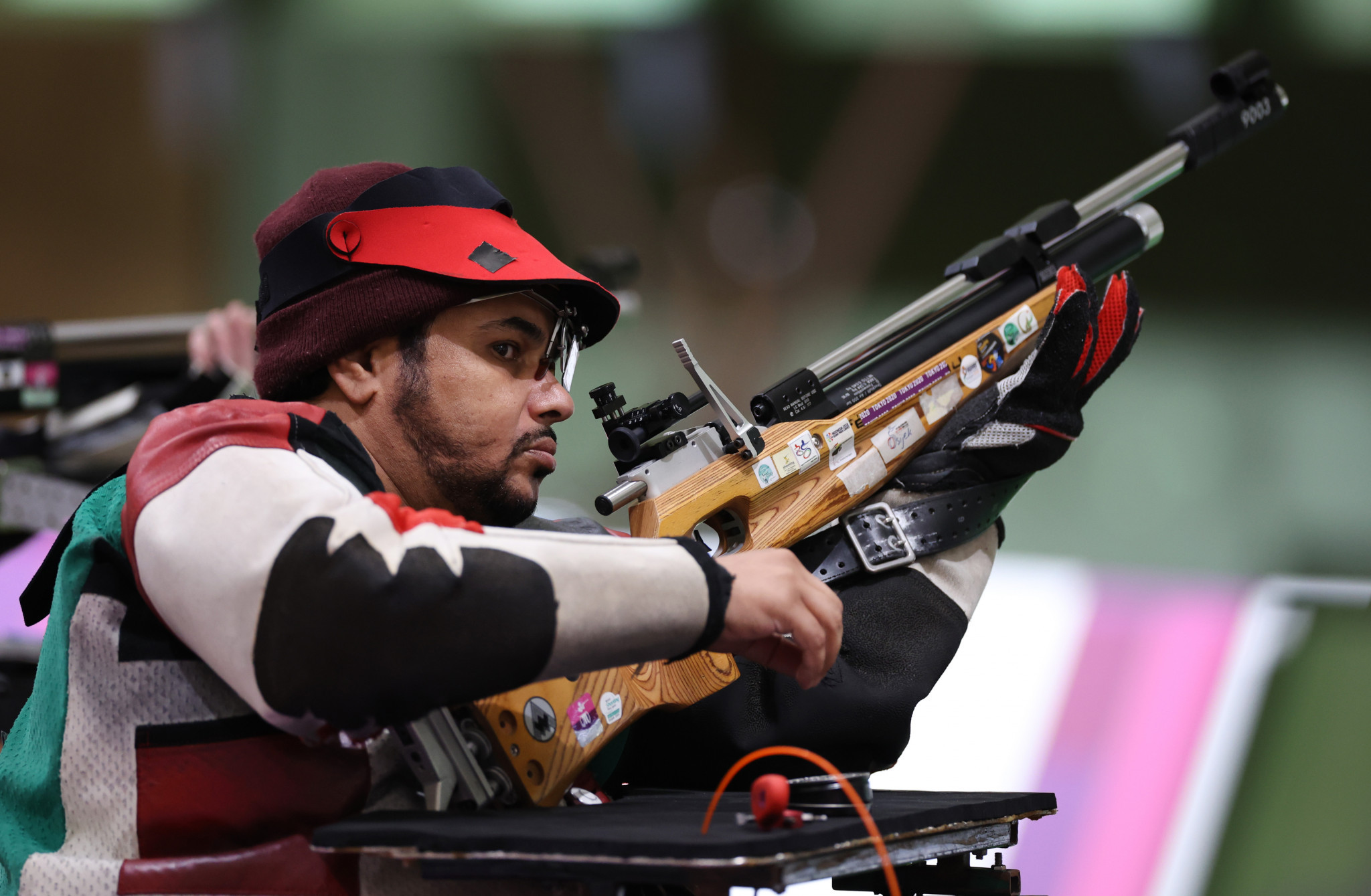 Alaryani wins UAE's first Tokyo 2020 Paralympics gold with 50m rifle win