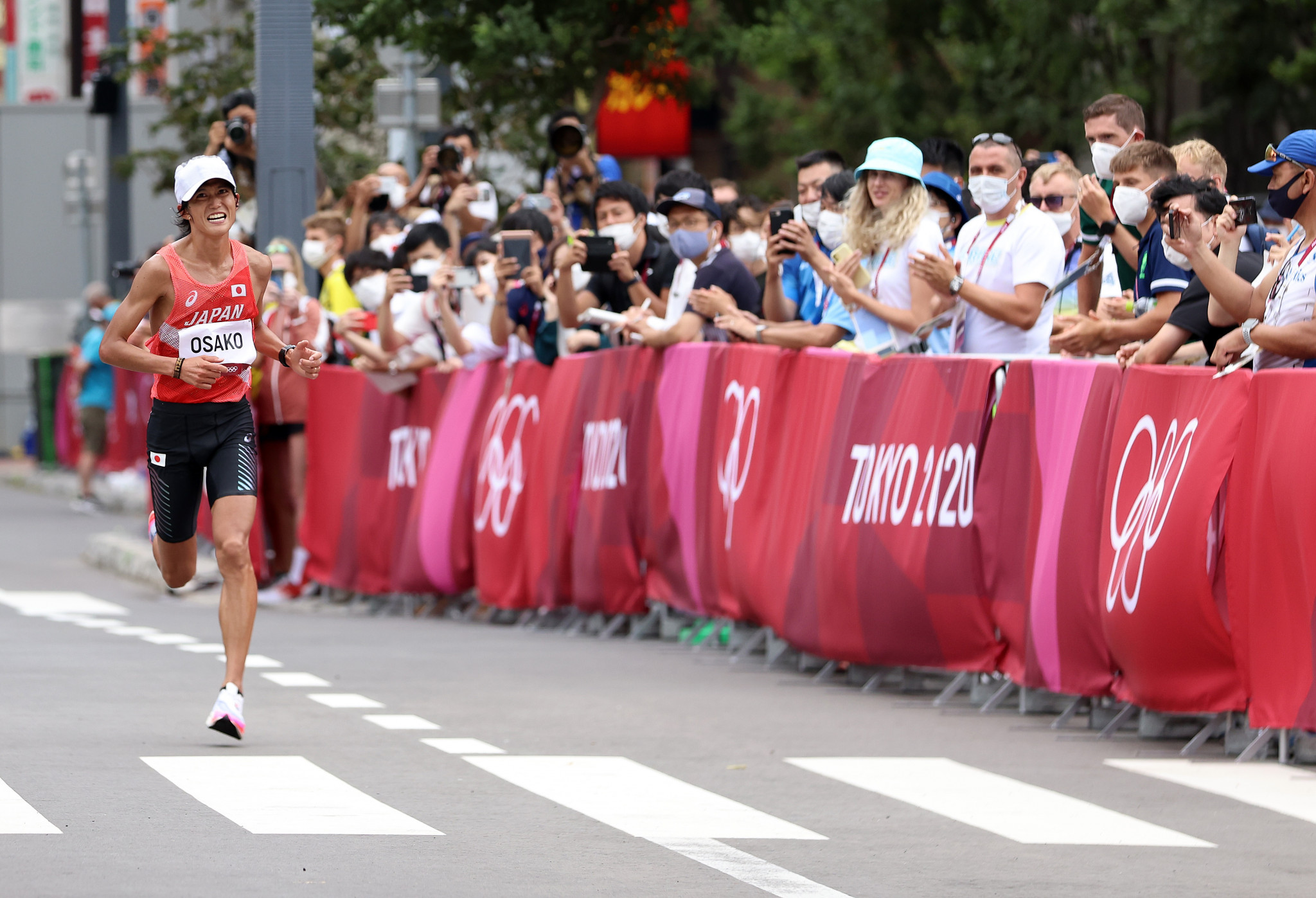 Tokyo 2020 urges public to stay away from marathon over COVID concerns