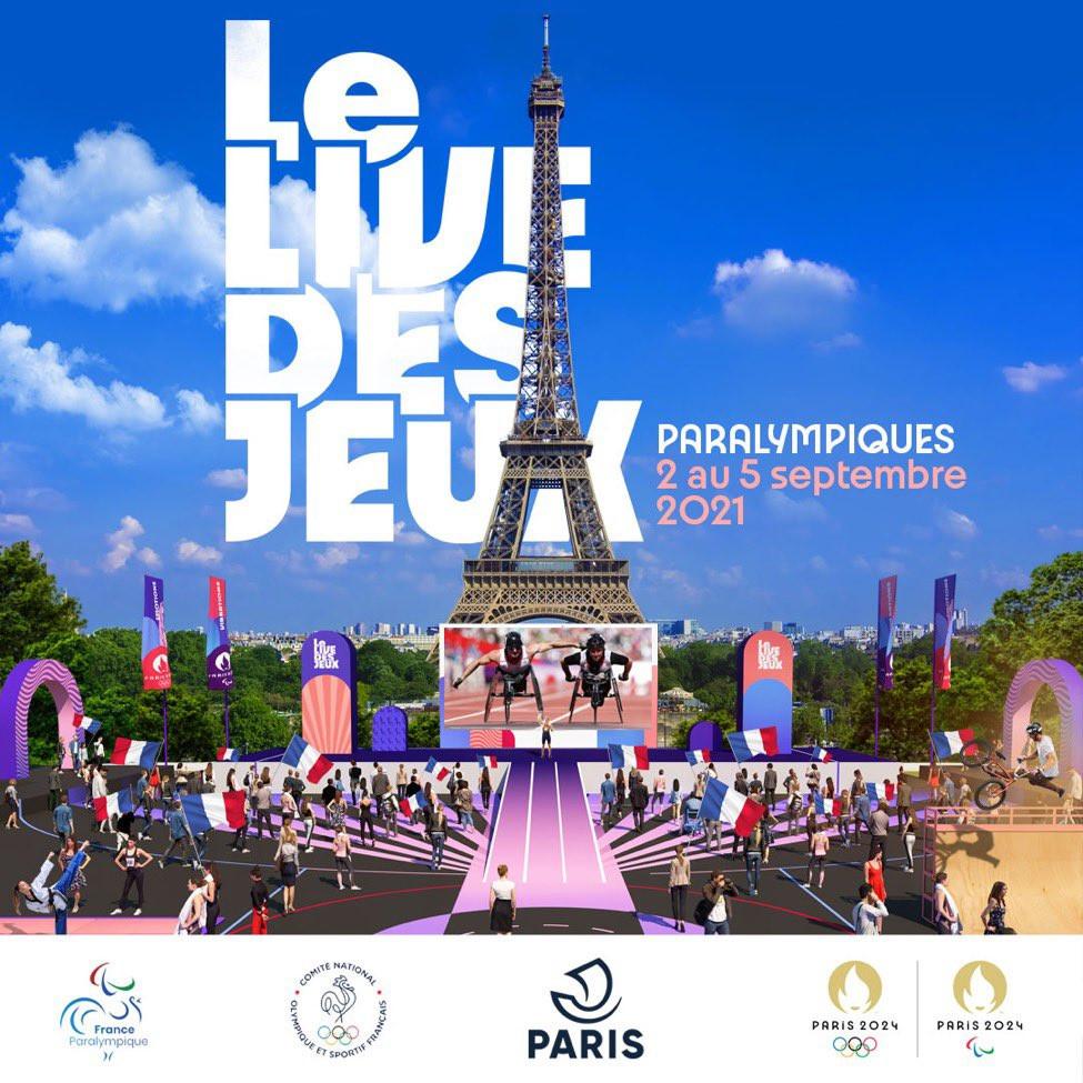 Paris 2024 unveil inclusive stars for handover of Paralympic Flag