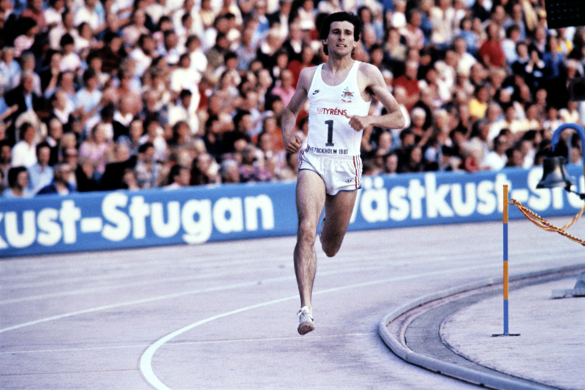 Seb Coe was one of the victors on the track in Rome in 1981, while others were victors off it ©Getty Images