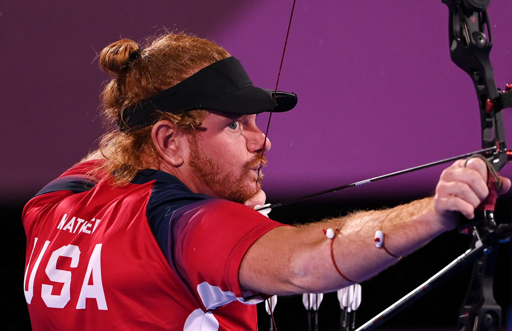 Mather wins individual recurve gold in thrilling archery final