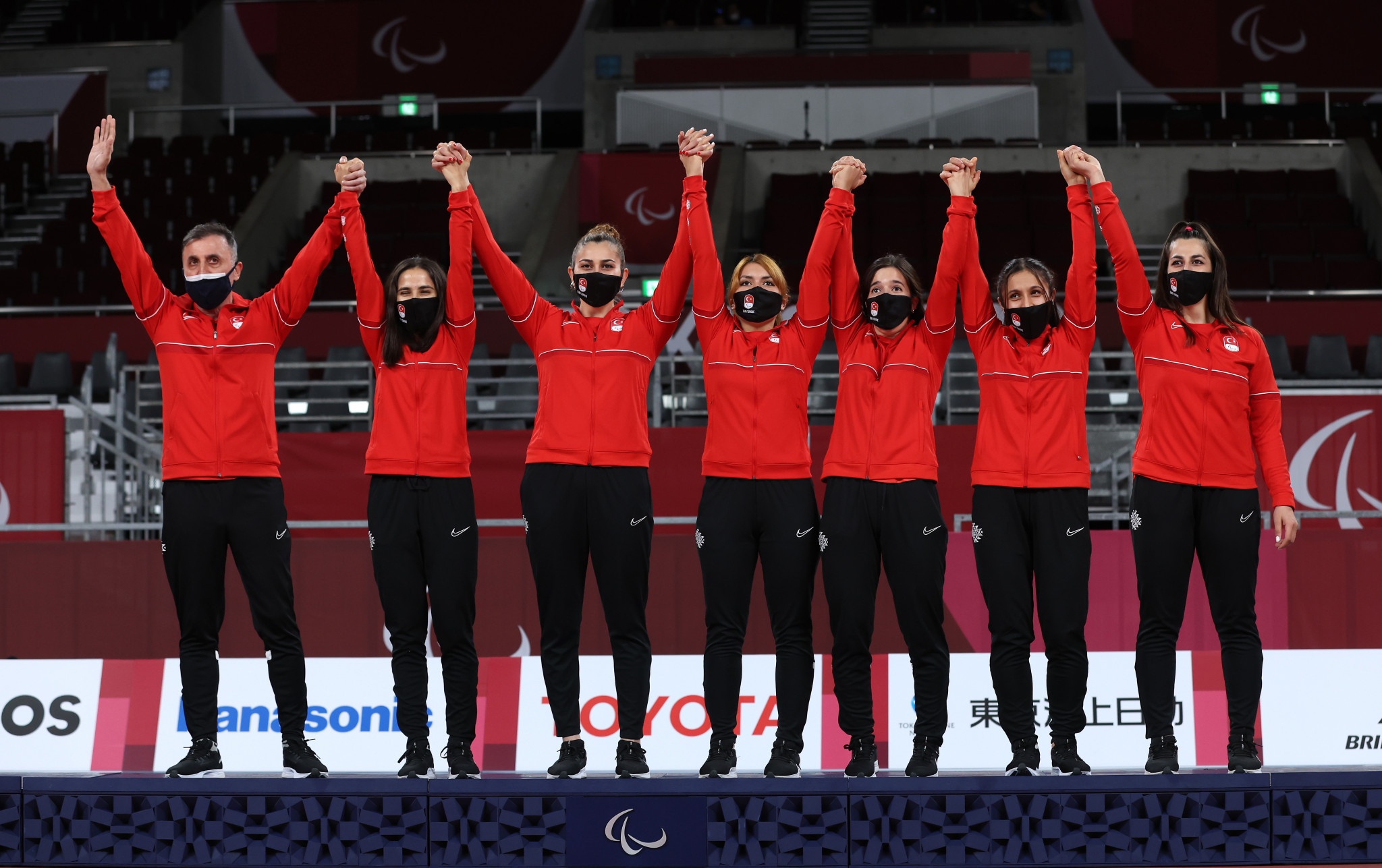 Turkey were crowned as women's goalball champions ©Getty Images