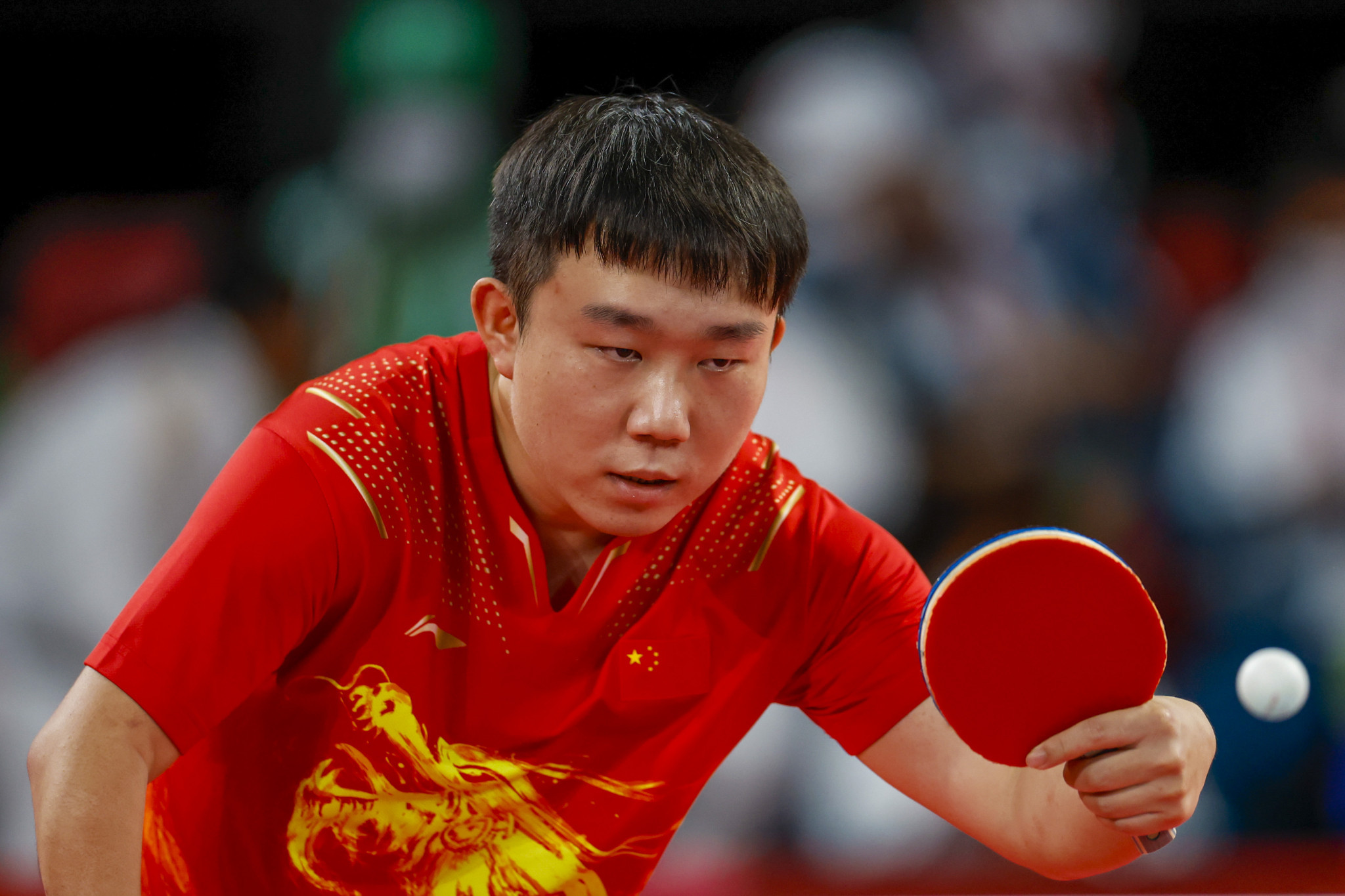 China won three team table tennis gold medals ©Getty Images