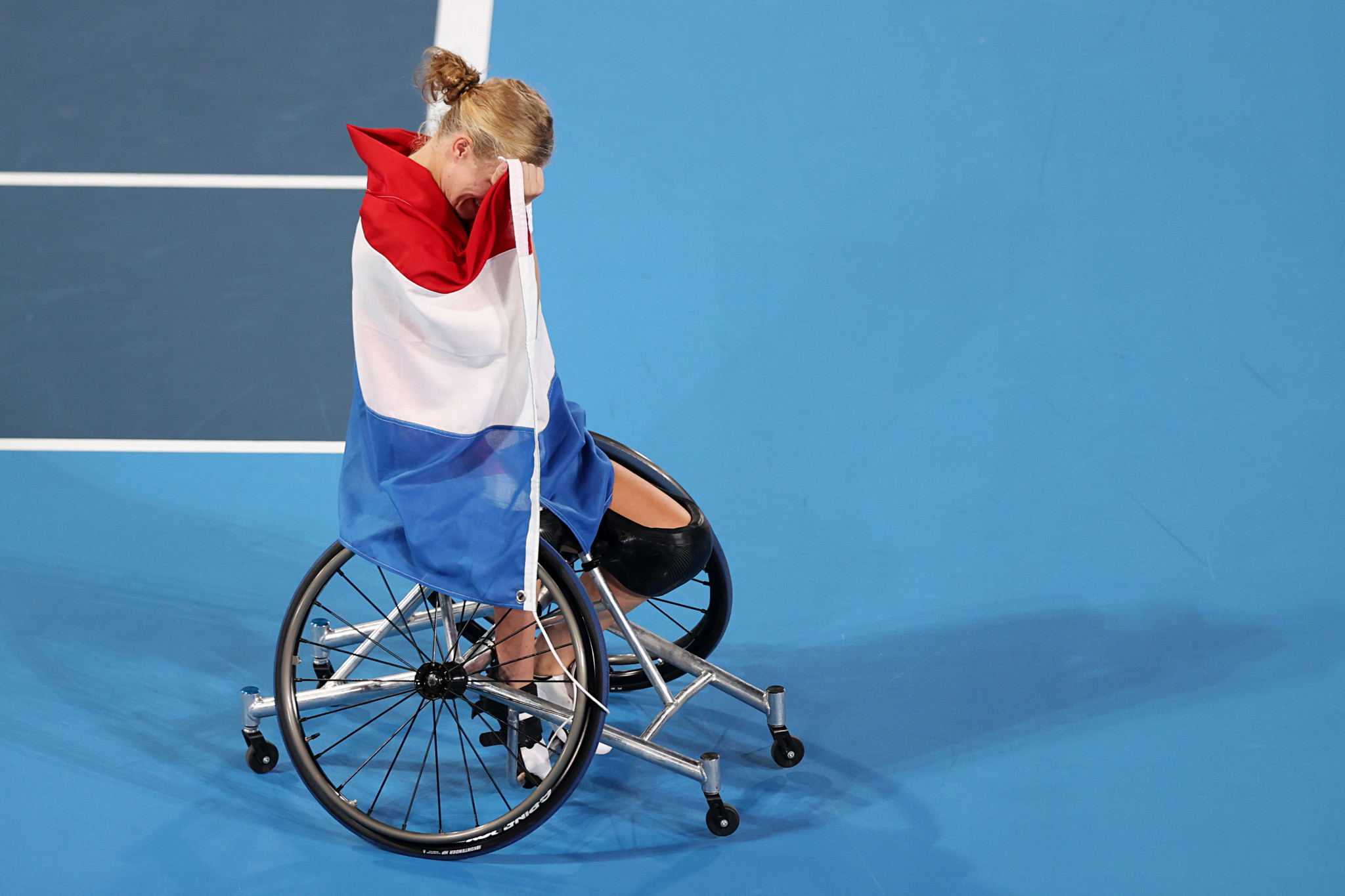 Dutch star Diede de Groot triumphed in the women's singles final ©Getty Images