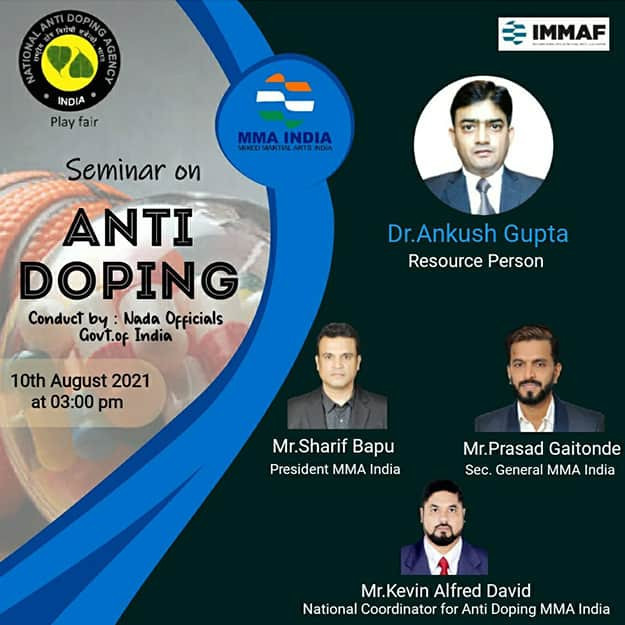 MMA India holds anti-doping seminar and moves forward with grading young athletes