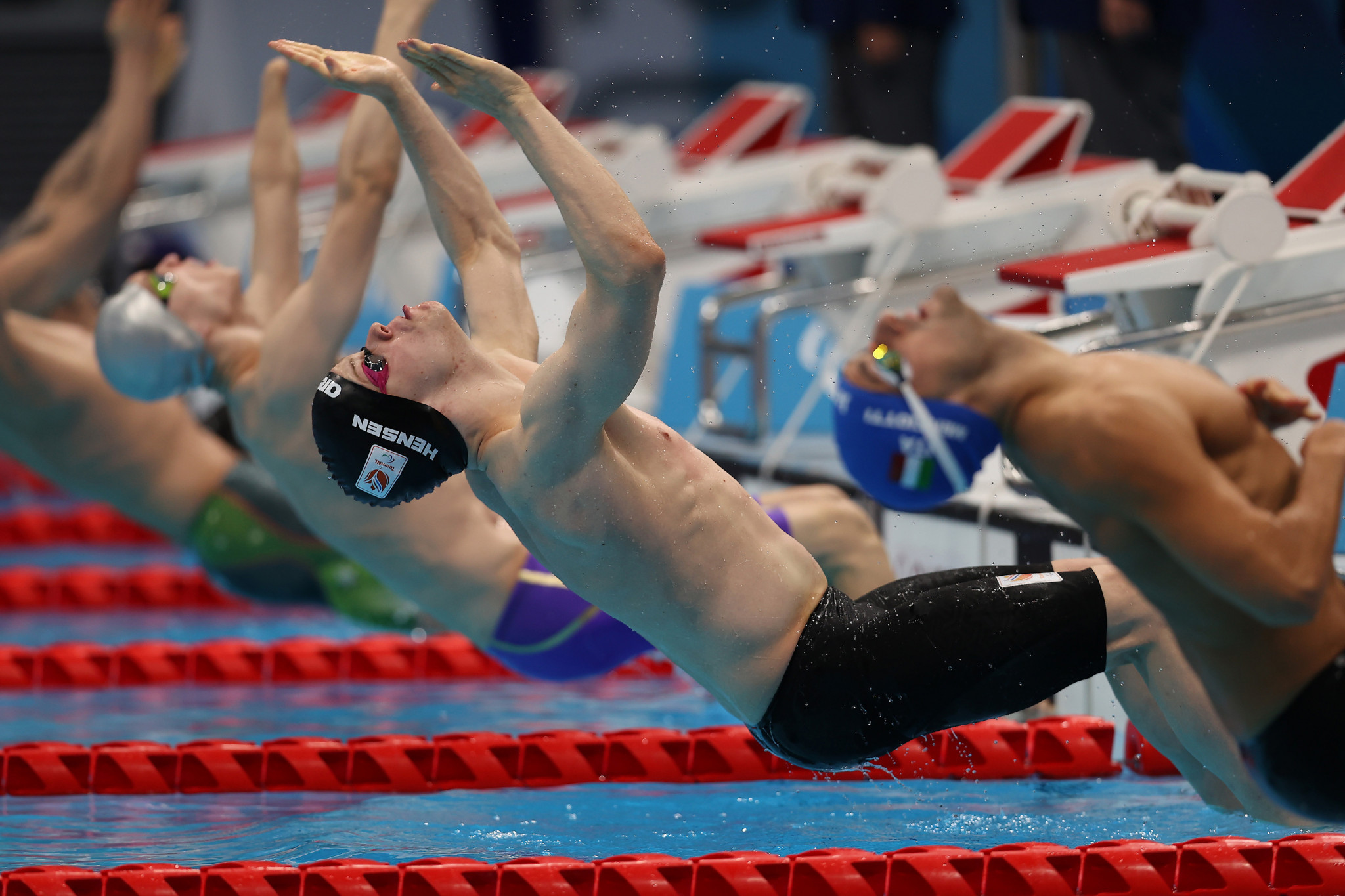 The final day of Tokyo 2020 swimming competition saw 16 gold medals on offer ©Getty Images