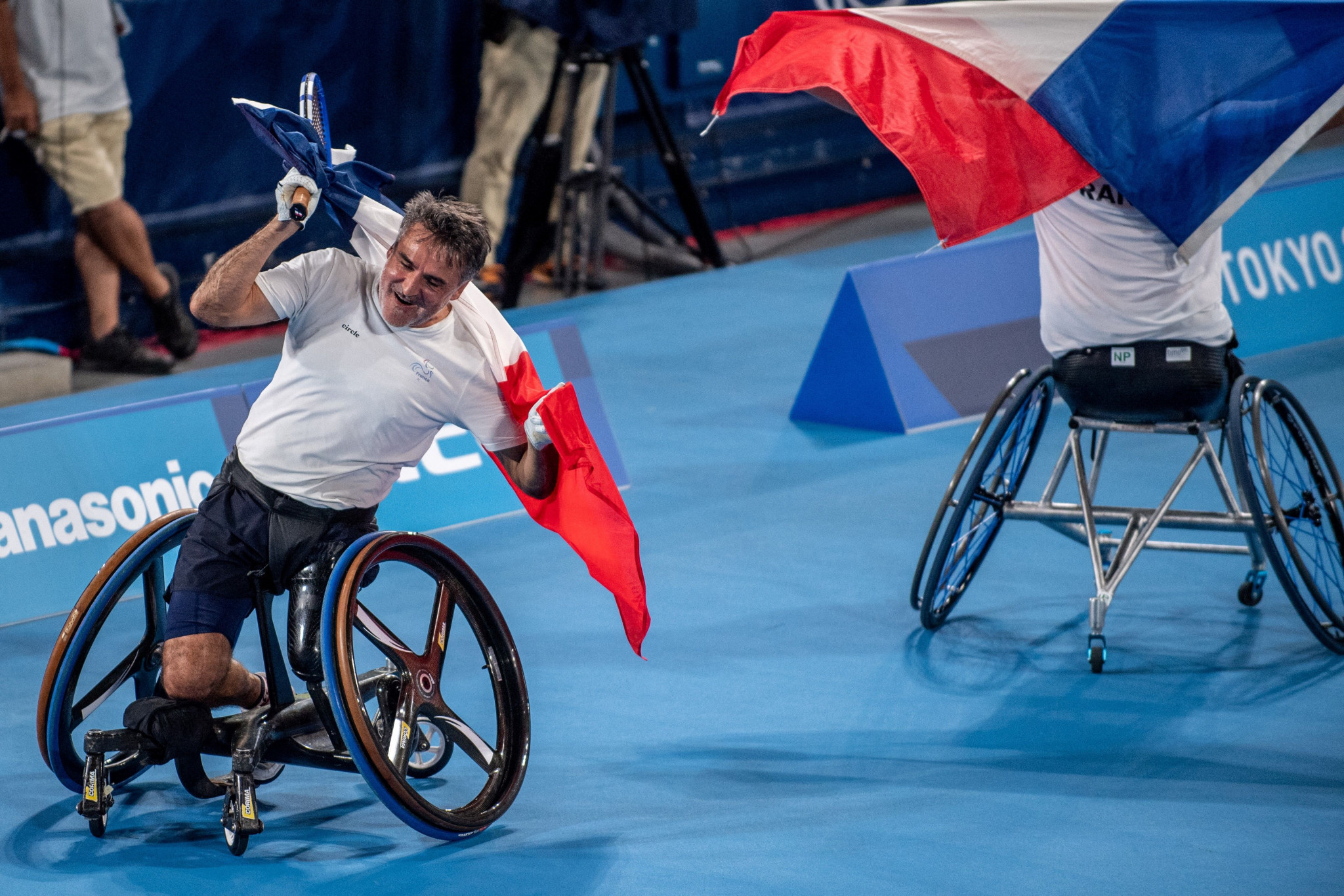 Wheelchair tennis titles earned and swimming ends at Tokyo 2020 Paralympics