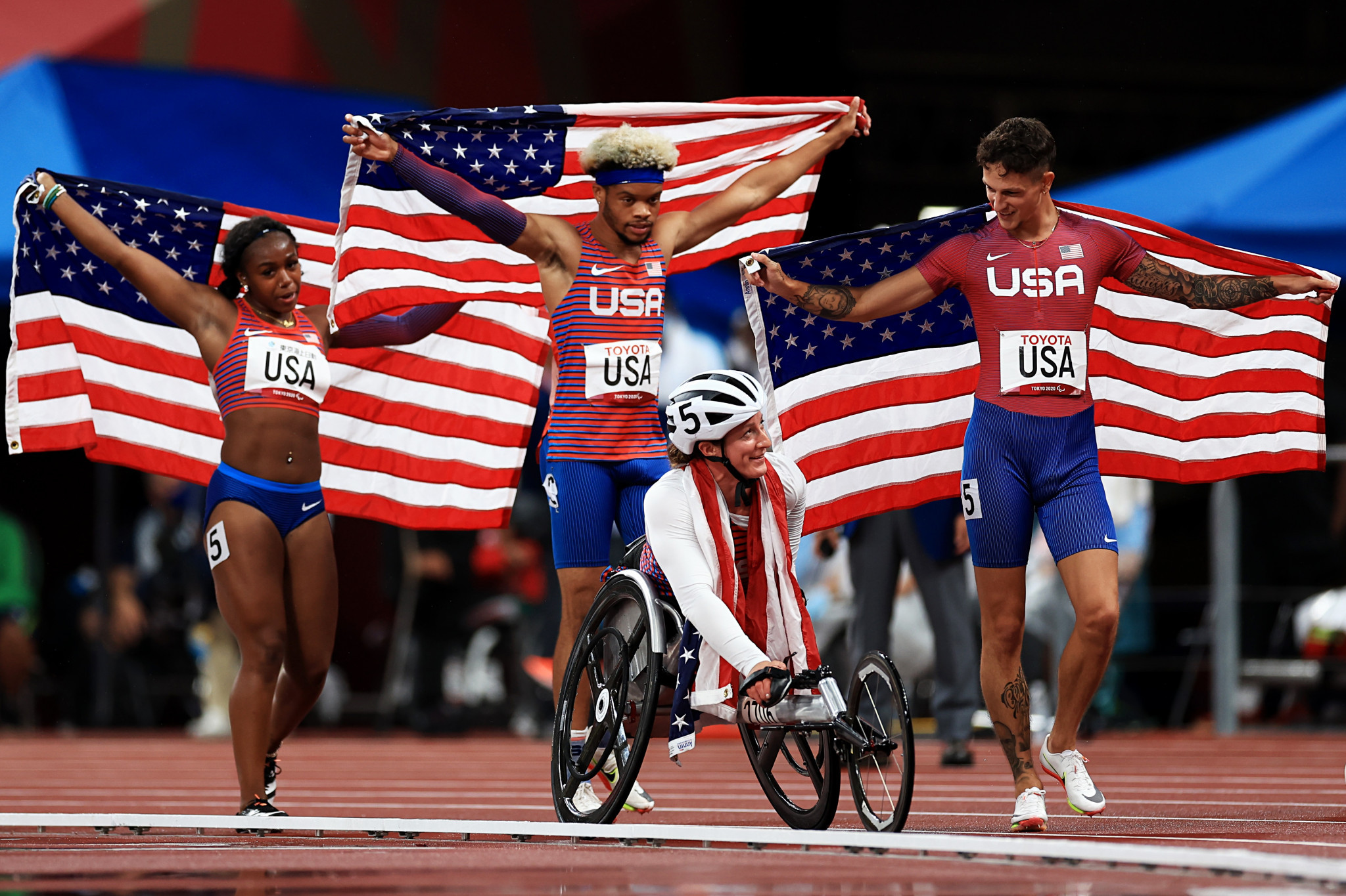 US capture first-ever universal relay Paralympic gold at Tokyo 2020