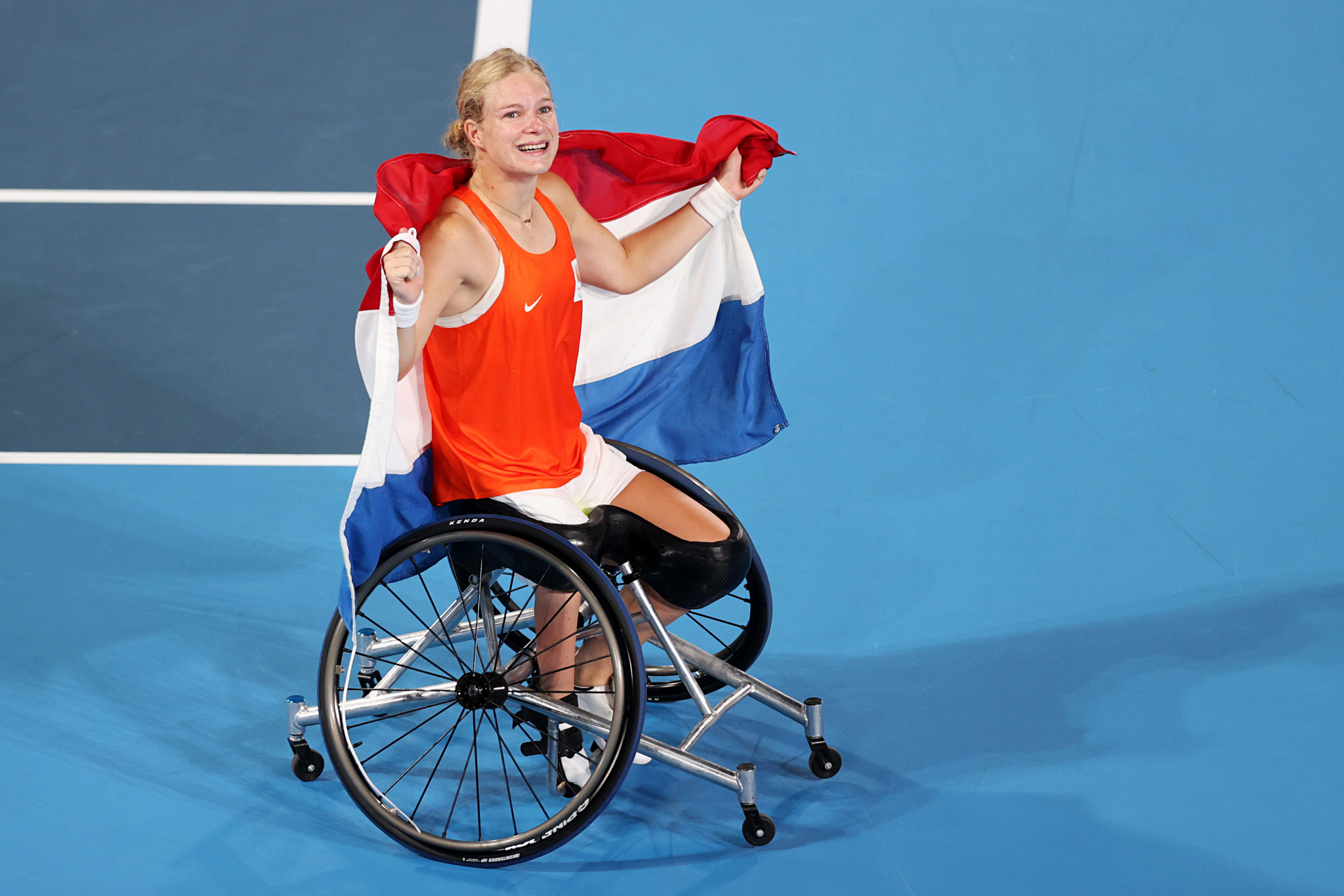 De Groot continues Dutch women's singles dominance at Paralympics as Houdet and Peifer win men's doubles