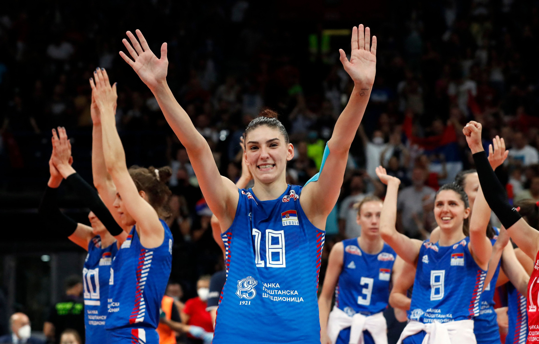 Serbia to face Italy in Women's EuroVolley final in Belgrade as hosts seek third title in a row