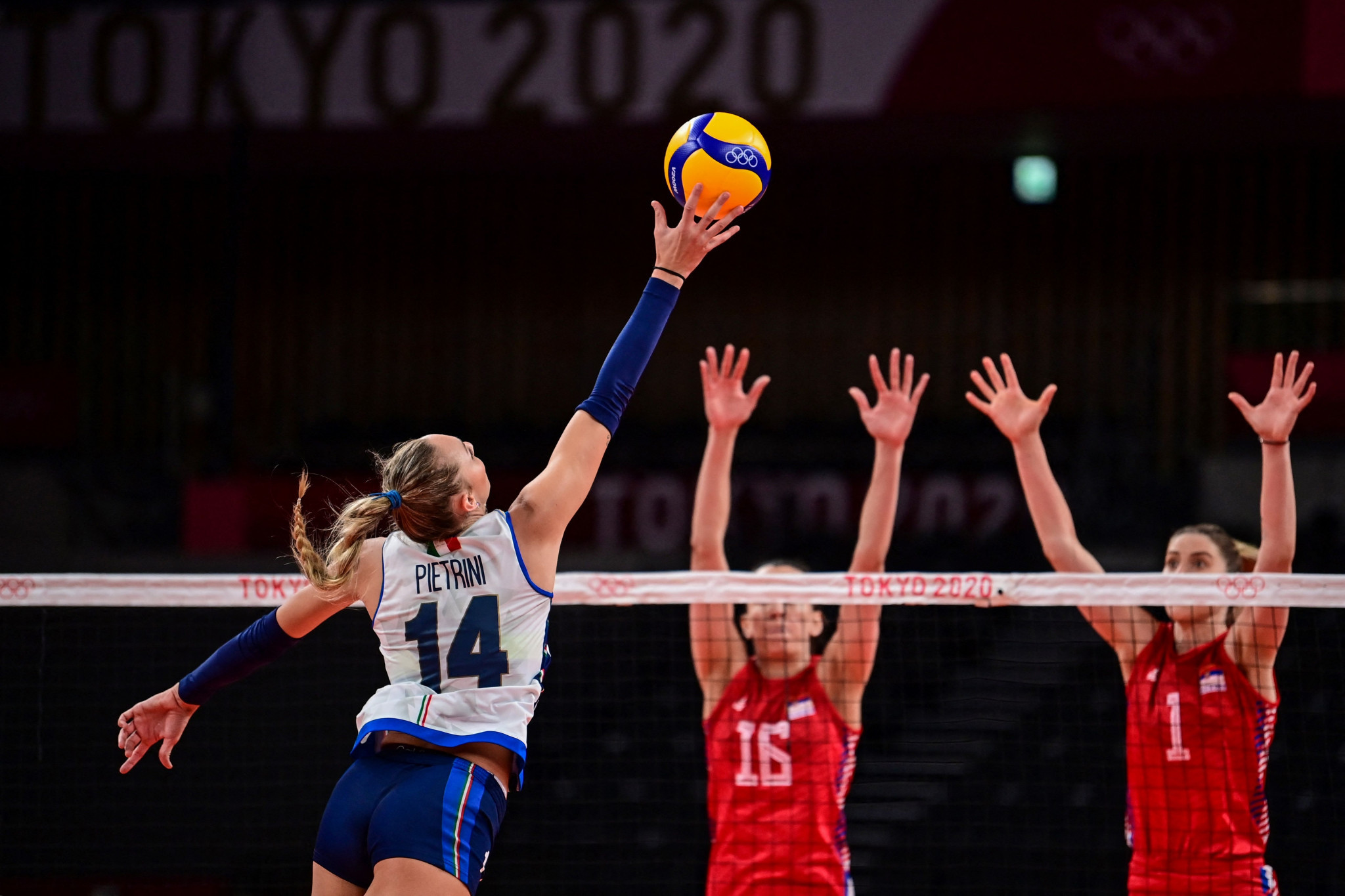 Serbia beat Italy in straight sets in the quarter-finals at the Tokyo 2020 Olympic Games ©Getty Images