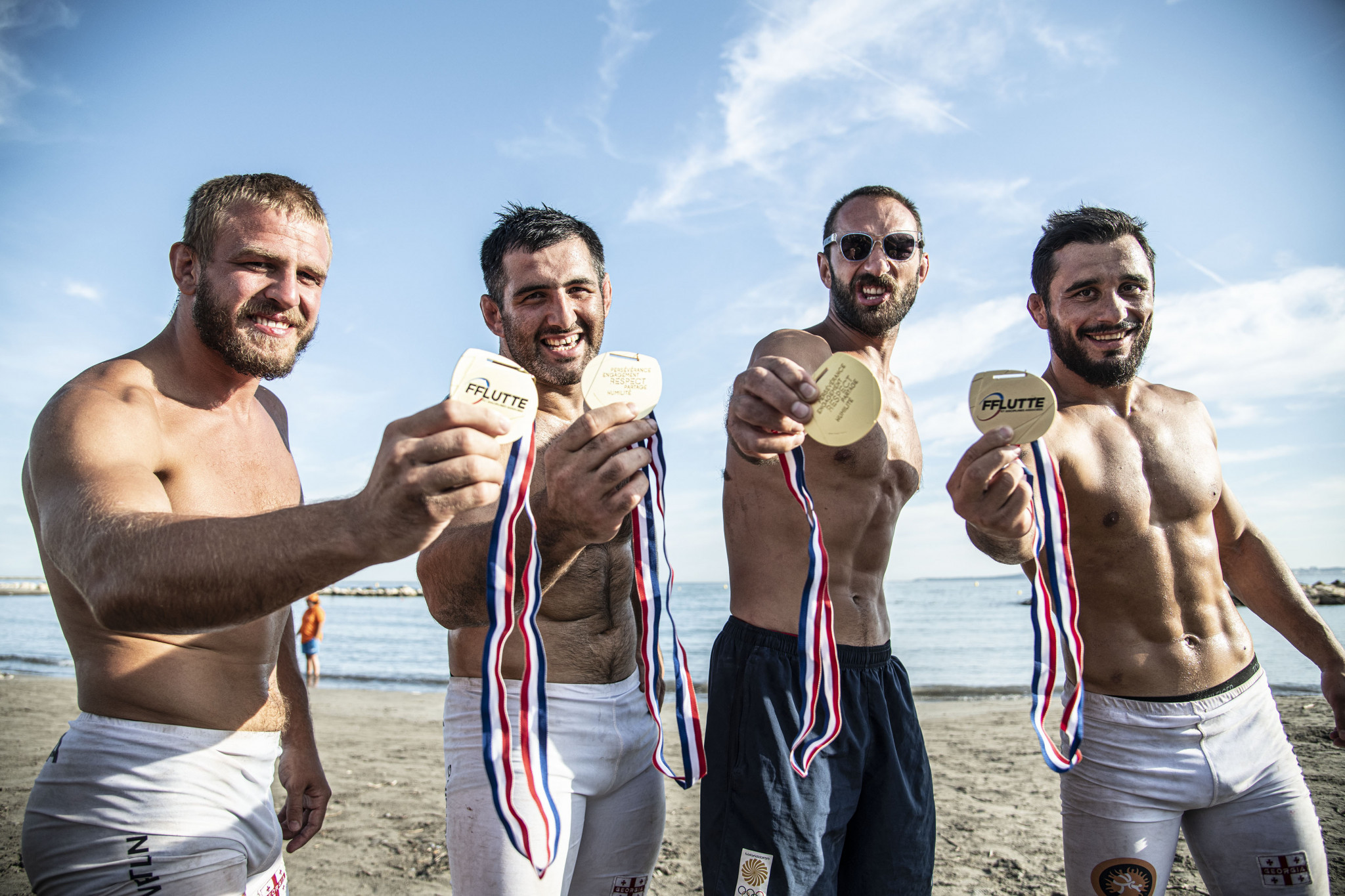 Good day for winners of Beach Wrestling World Series' first event at second leg in Rome