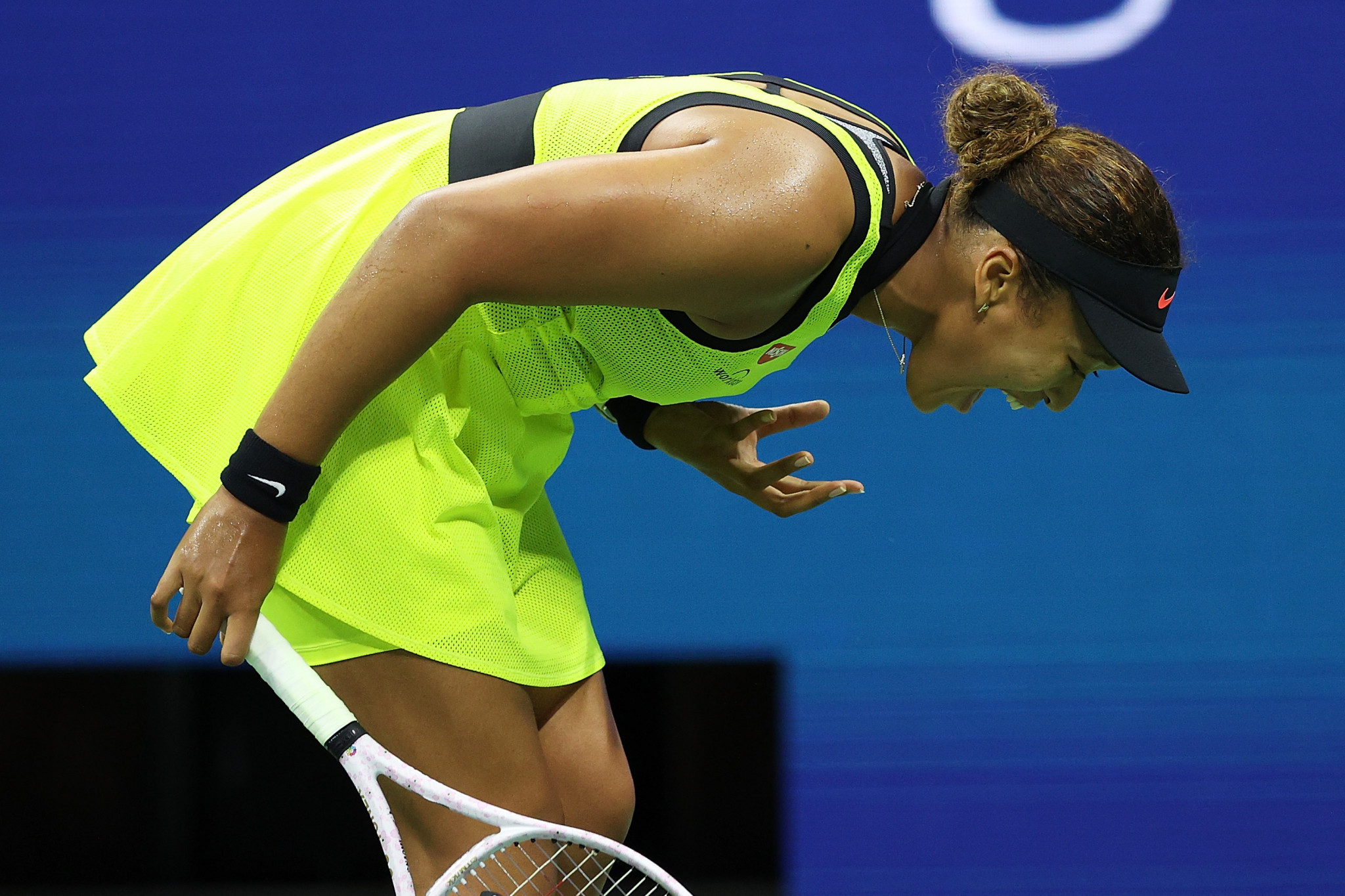 Naomi Osaka to take indefinite break from tennis after crashing out of US Open