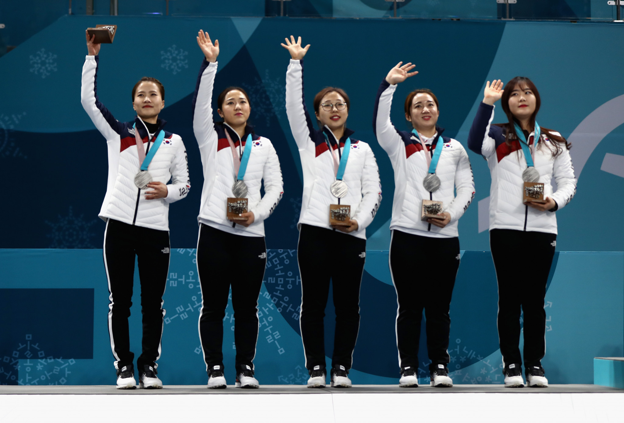 """The """"Garlic Girls"""", as they were nicknamed, won South Korea's only ever curling Olympic medal at Pyeongchang 2018 ©Getty Images"""