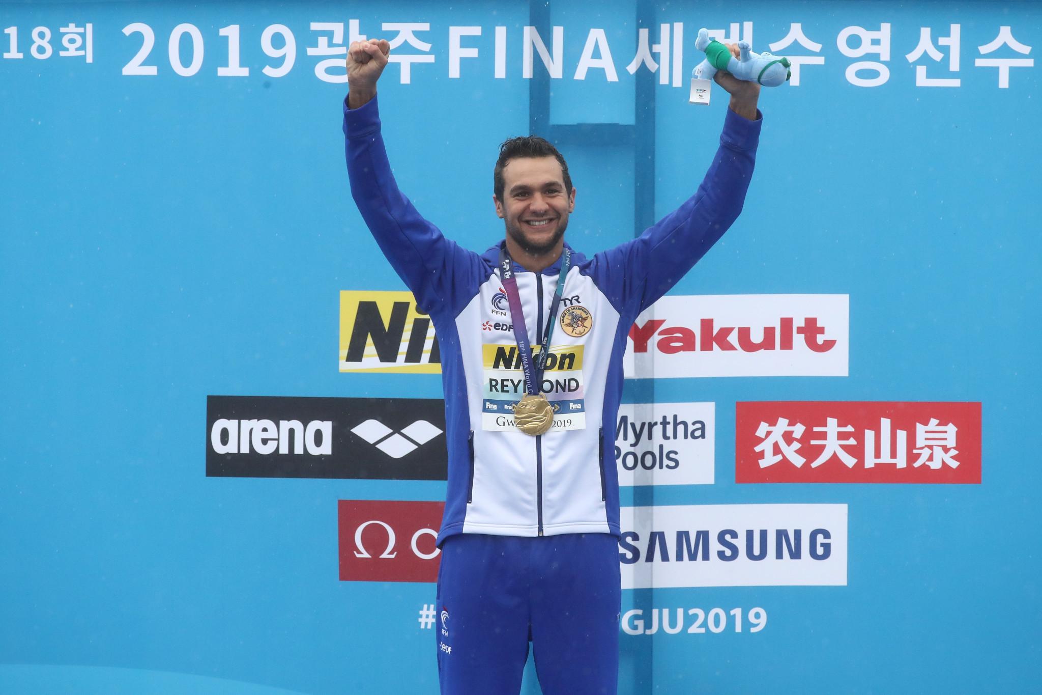 Twenty-five-kilometre two-time world champion Axel Reymond is set to compete in the second leg of the FINA UltraMarathon Swim Series ©Getty Images