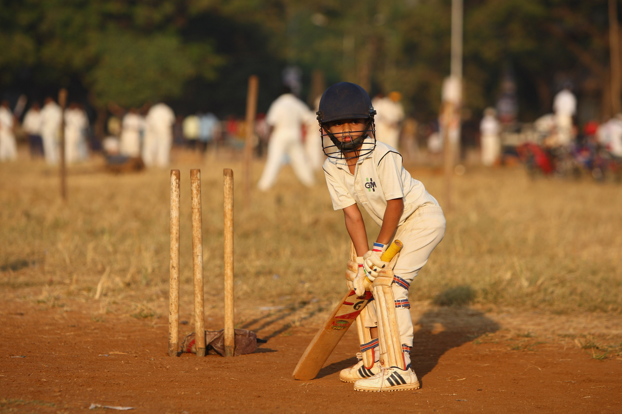 Cricket is immensely popular in India, an untapped market for the Olympic Movement ©Getty Images