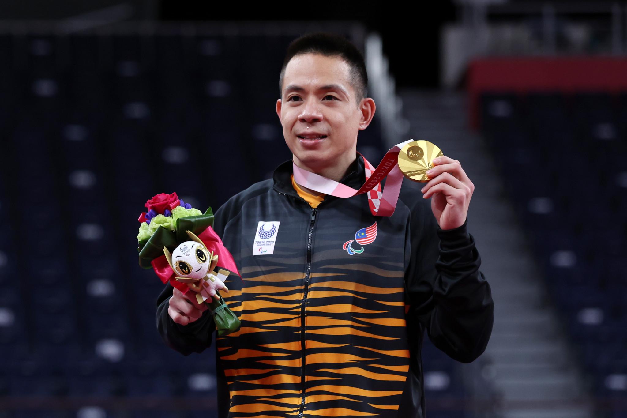 Cheah becomes inaugural Para-badminton champion at Tokyo 2020 Paralympic Games
