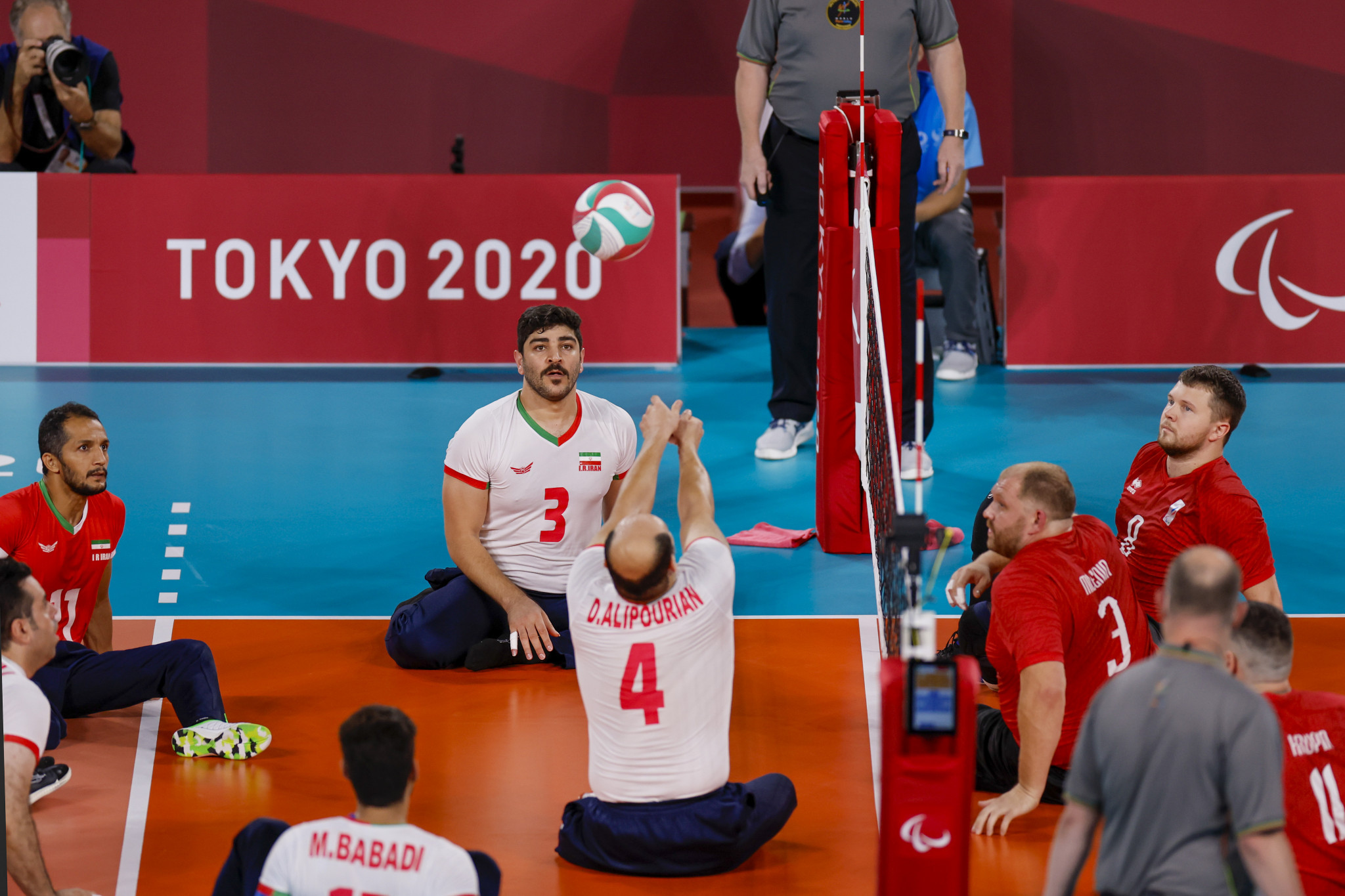 Iran down RPC to win men's sitting volleyball gold for seventh time at Paralympic Games