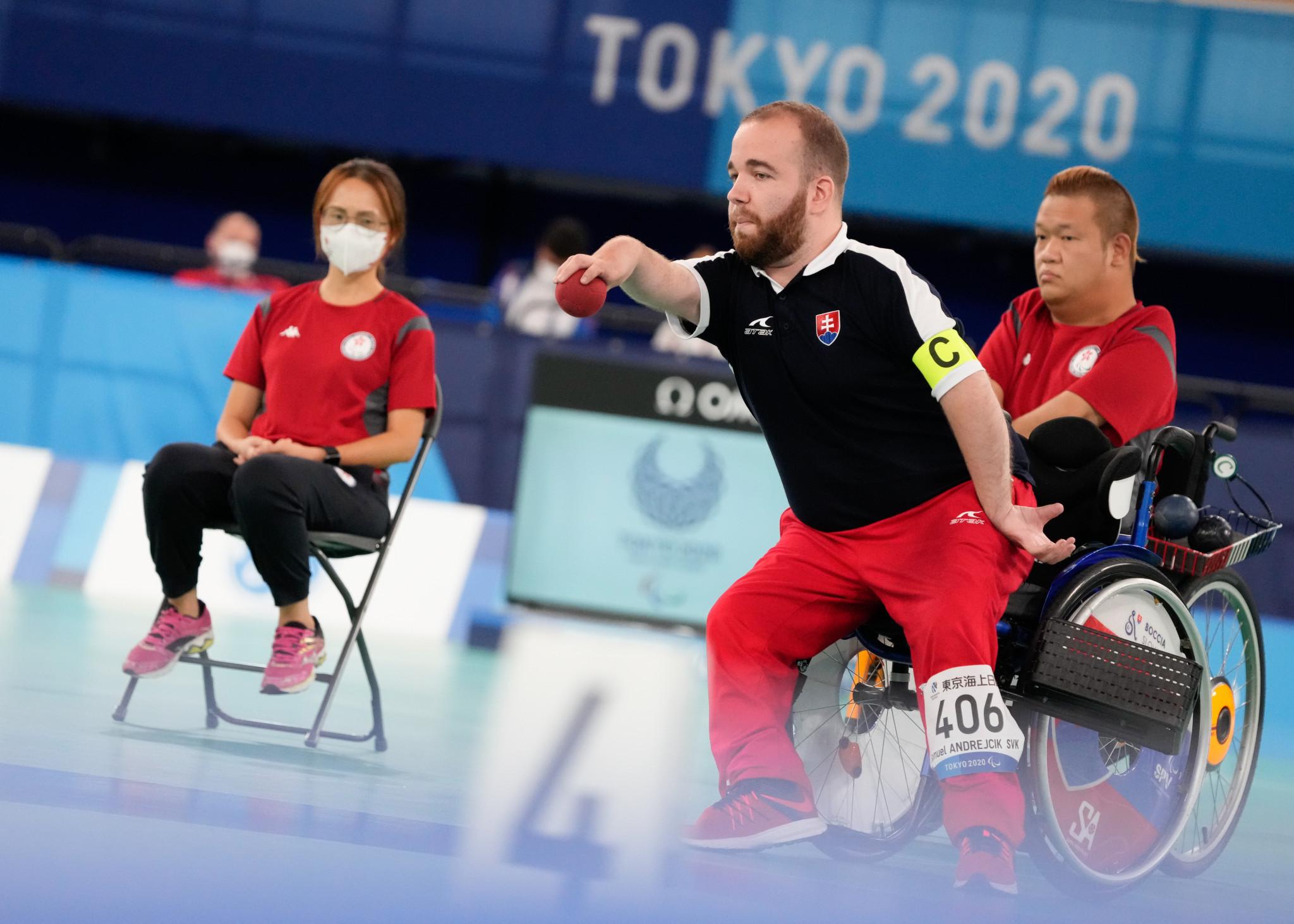 Slovakia retain pairs BC4 boccia title at Tokyo 2020 Paralympics