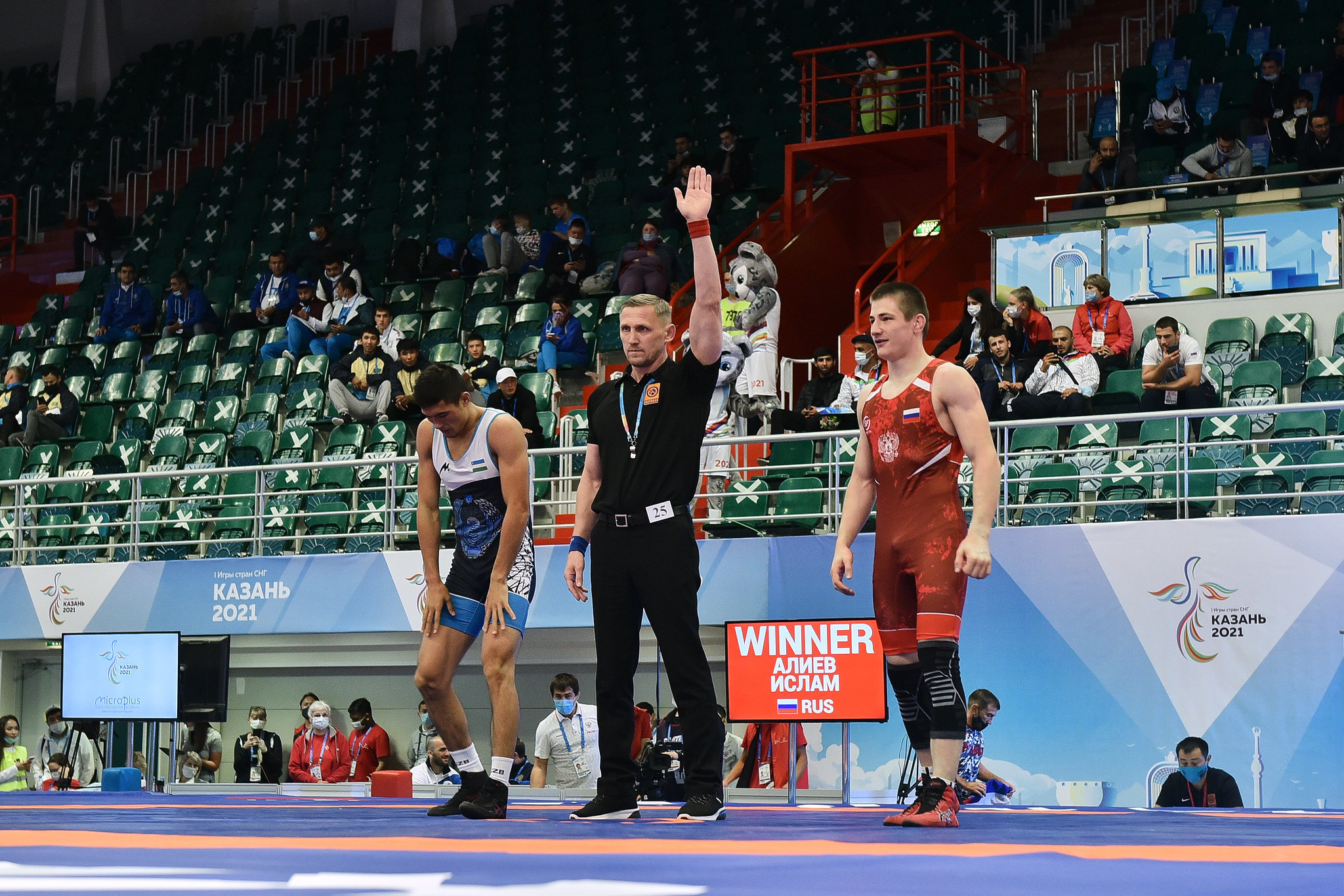 Russia dominate early stages of Games of the CIS Countries