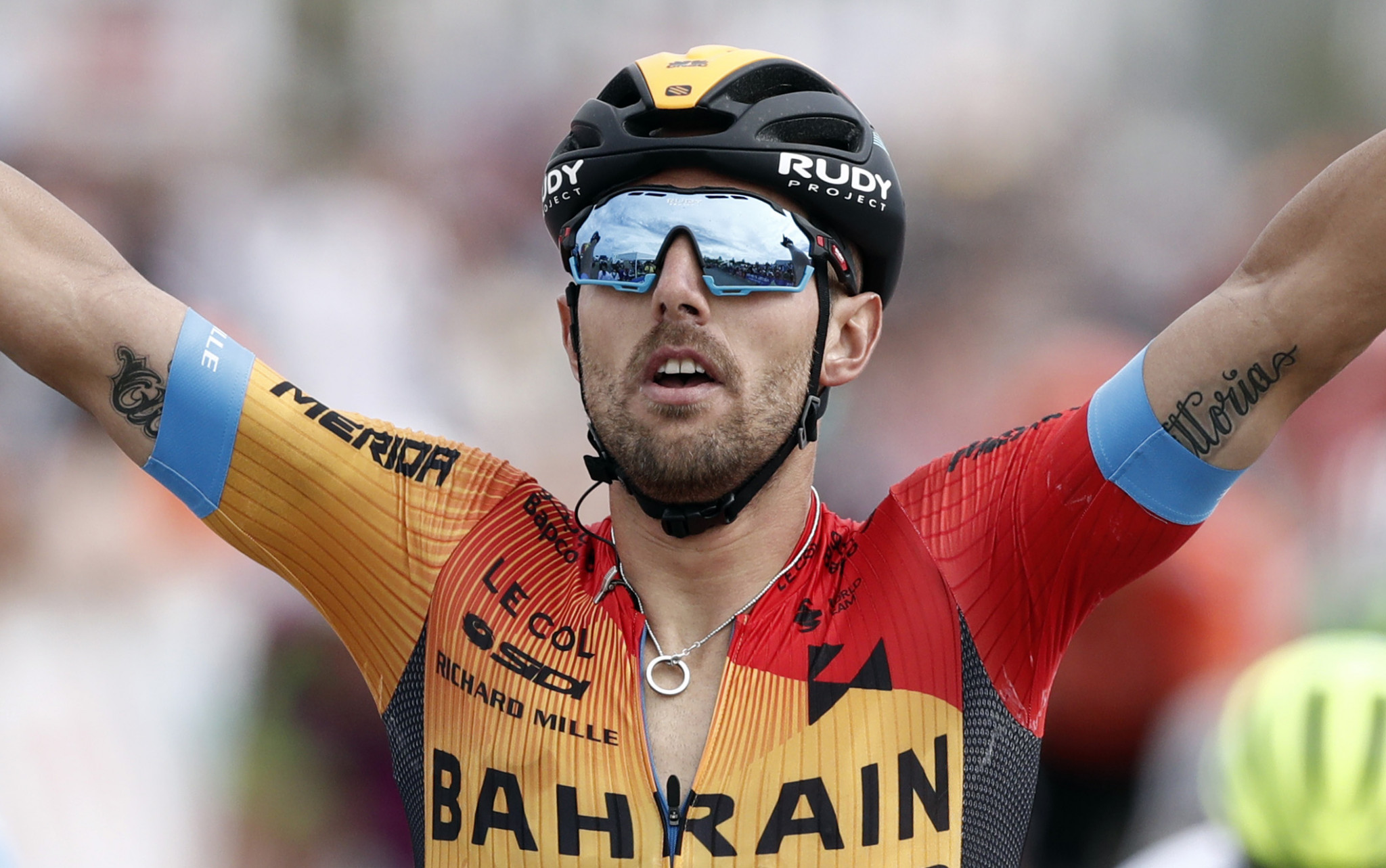Colbrelli and Mohorič help Bahrain Victorious occupy top two spots on Benelux Tour
