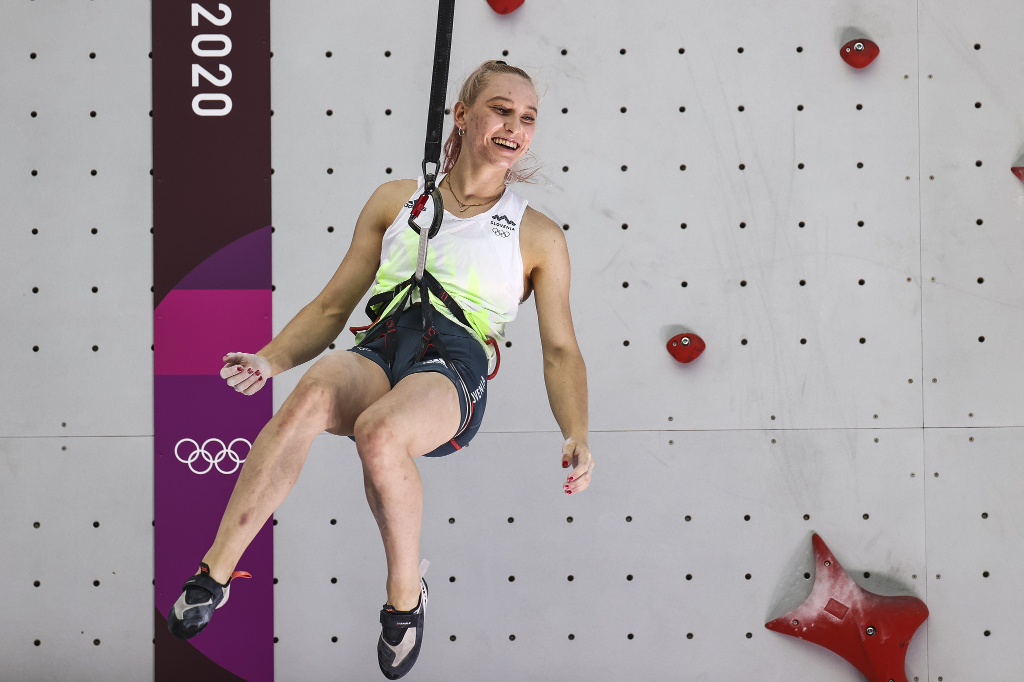 Garnbret moves top of IFSC women's lead World Cup standings with home win, while Higuchi clinches men's event in Kranj