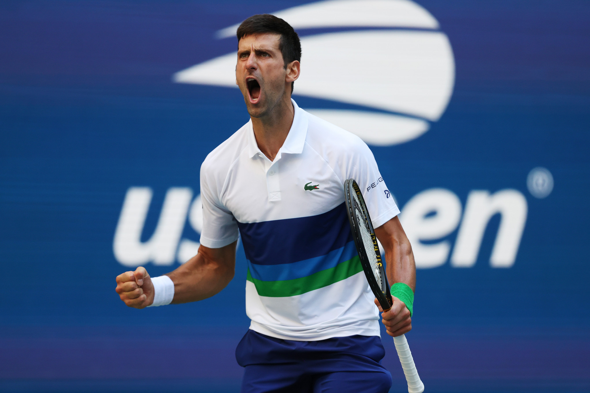 Djokovic continues calendar Grand Slam bid with victory over Nishikori in US Open men's singles third round