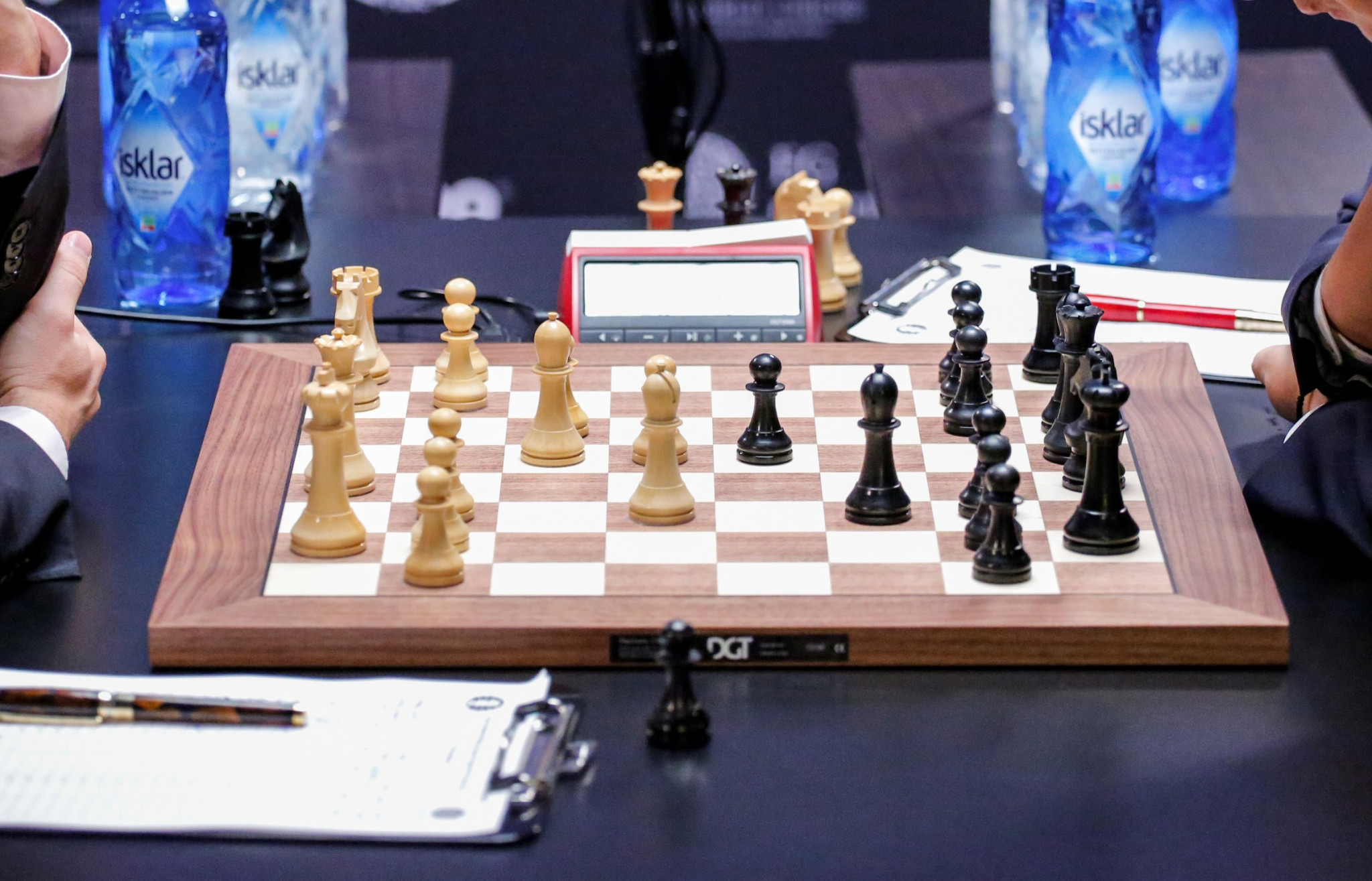 Demchenko maintains half-point lead going into European Individual Chess Championship final round