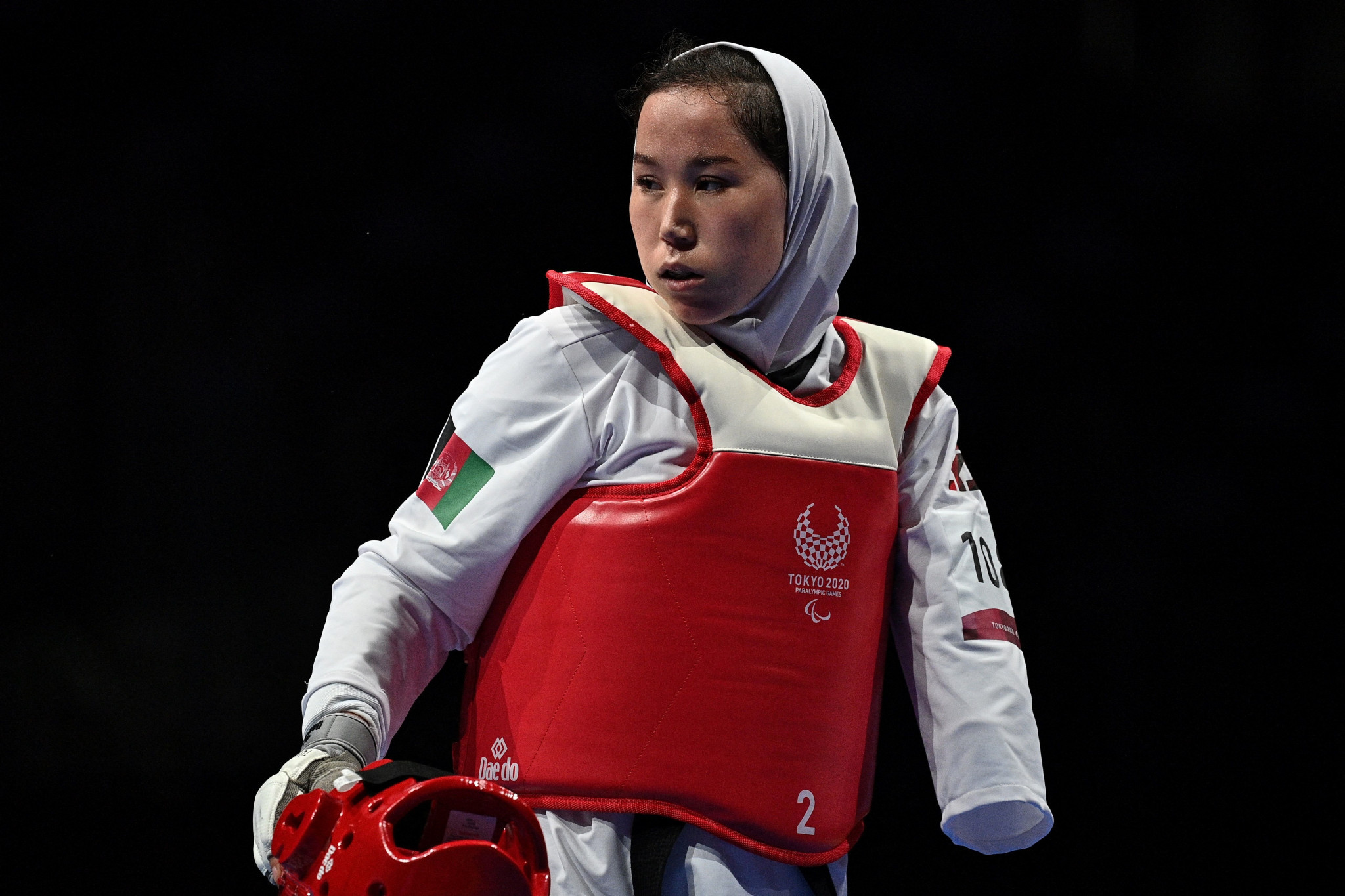 Afghan athletes offered chance to carry flag at Paralympic Closing Ceremony
