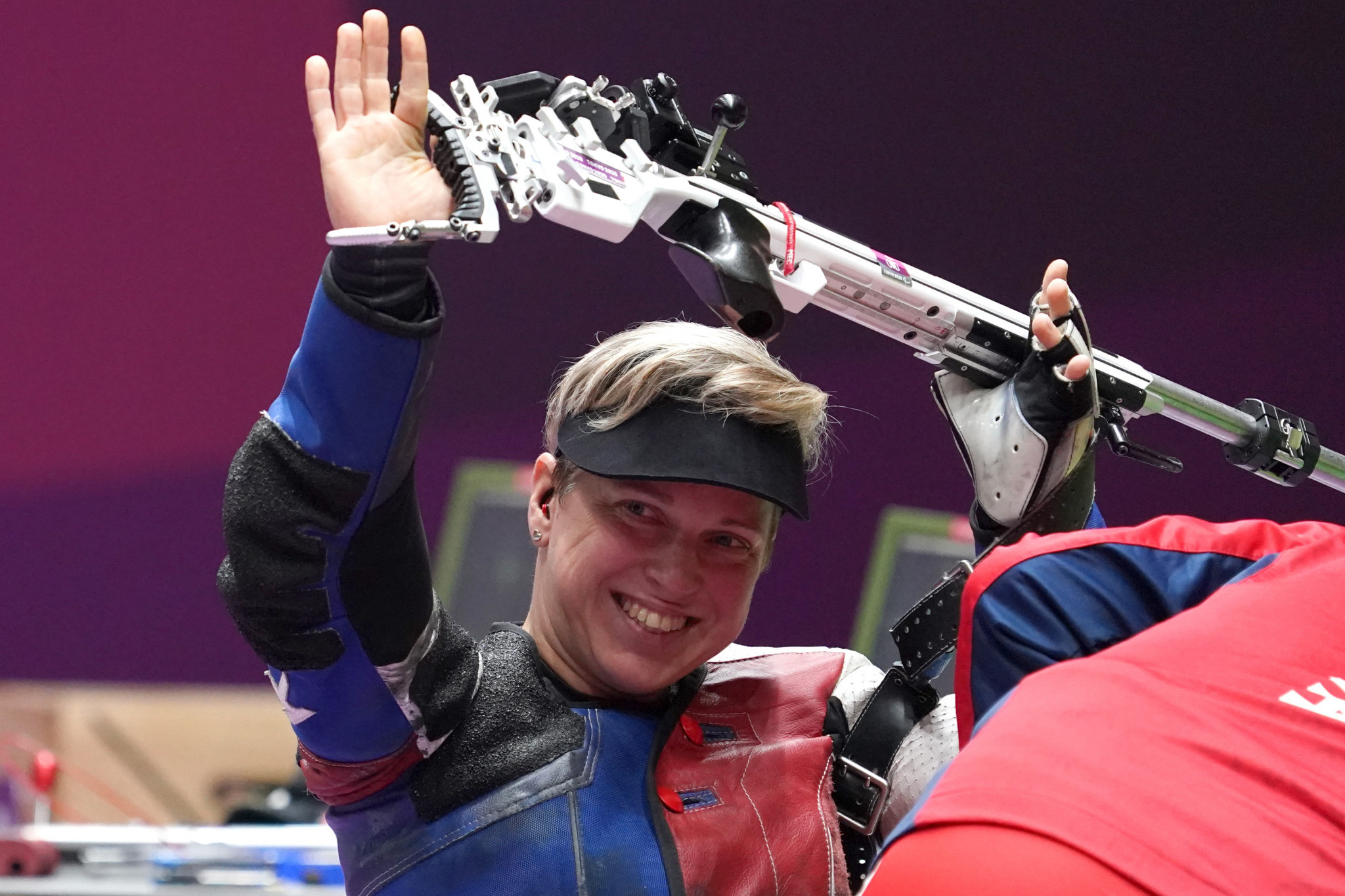Vadovičová wins fourth Paralympic gold of career in final Tokyo 2020 shooting event