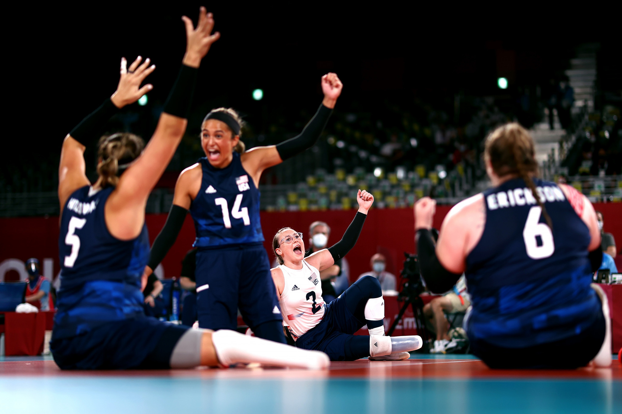 US overcome COVID-hit build-up to down rivals China and retain women's sitting volleyball title