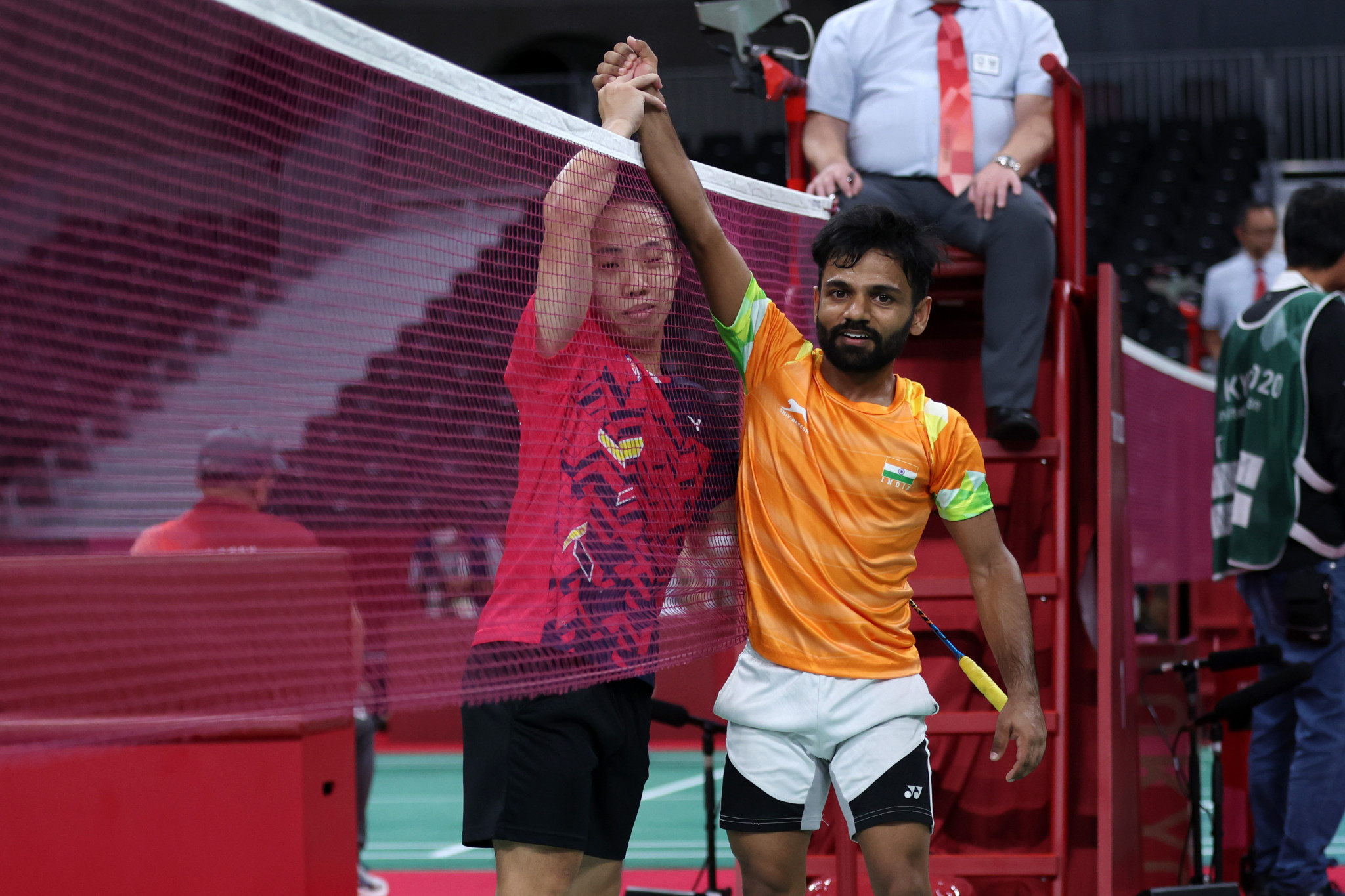 India's Krishna Nagar claimed gold in the men's singles SH6 event ©Getty Images